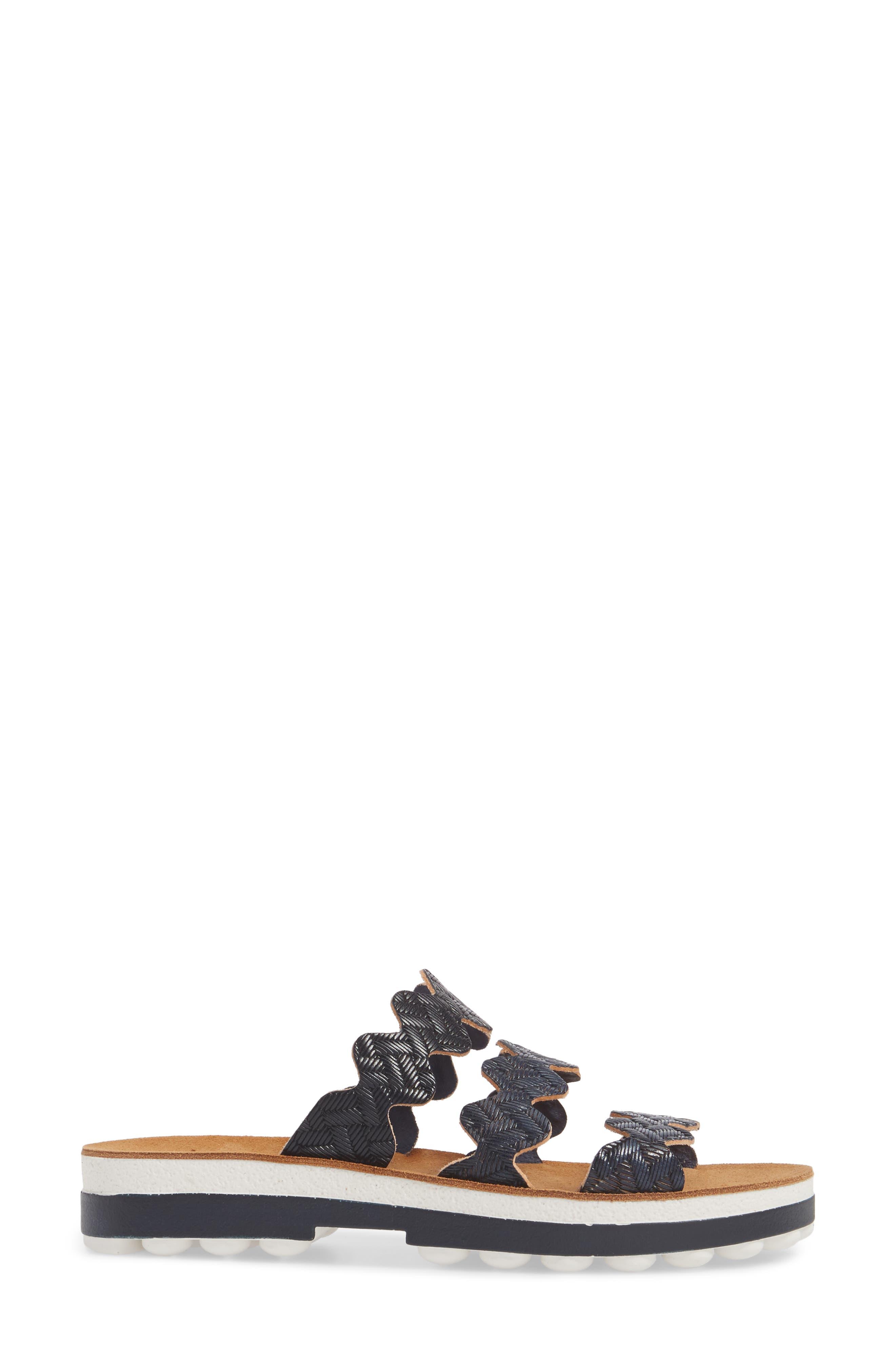 Alternate Image 3  - Fantasy Sandals Waves Slide Sandal (Women)