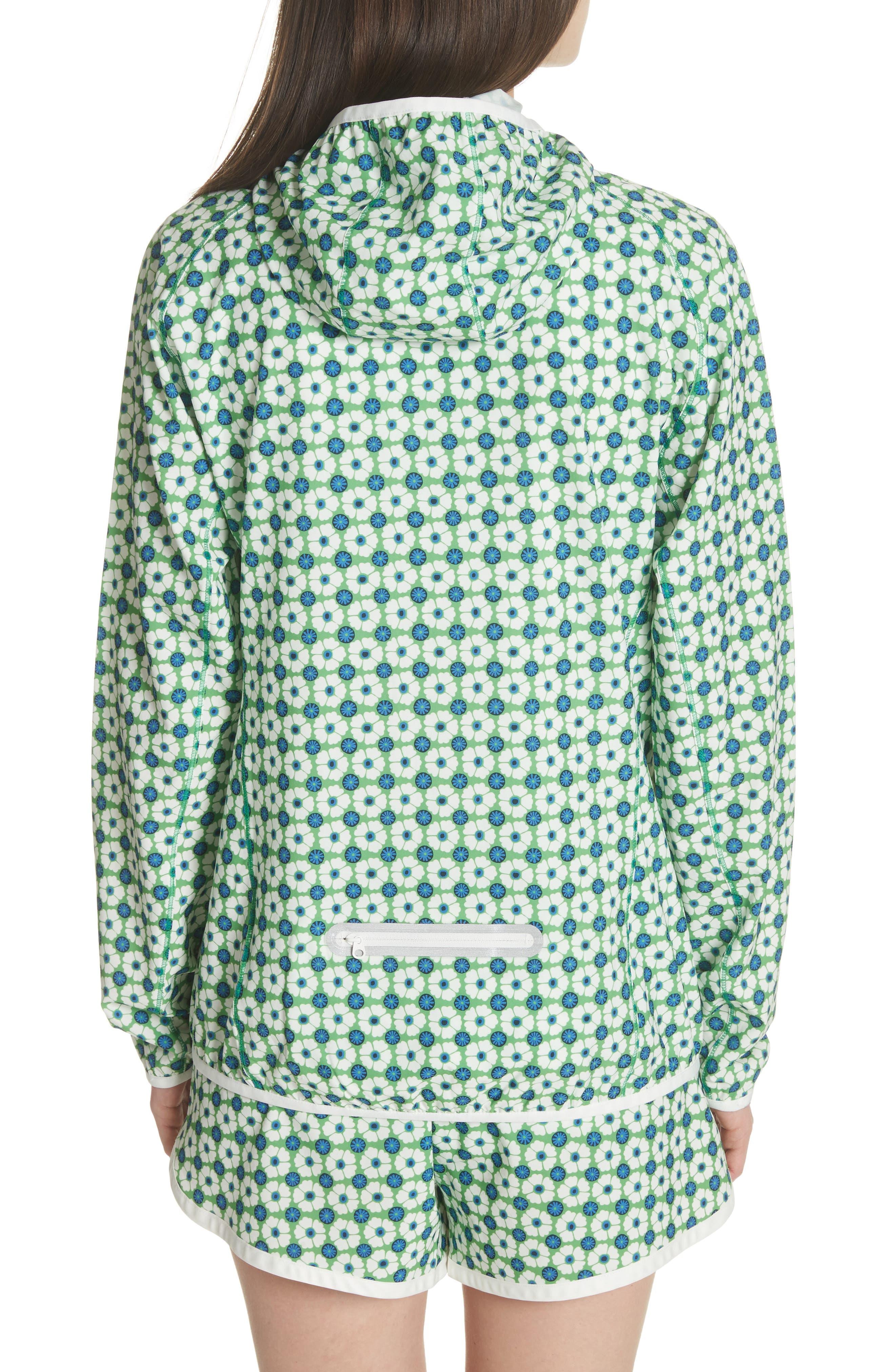 Print Packable Jacket,                             Alternate thumbnail 2, color,                             Scarf Blue Floral