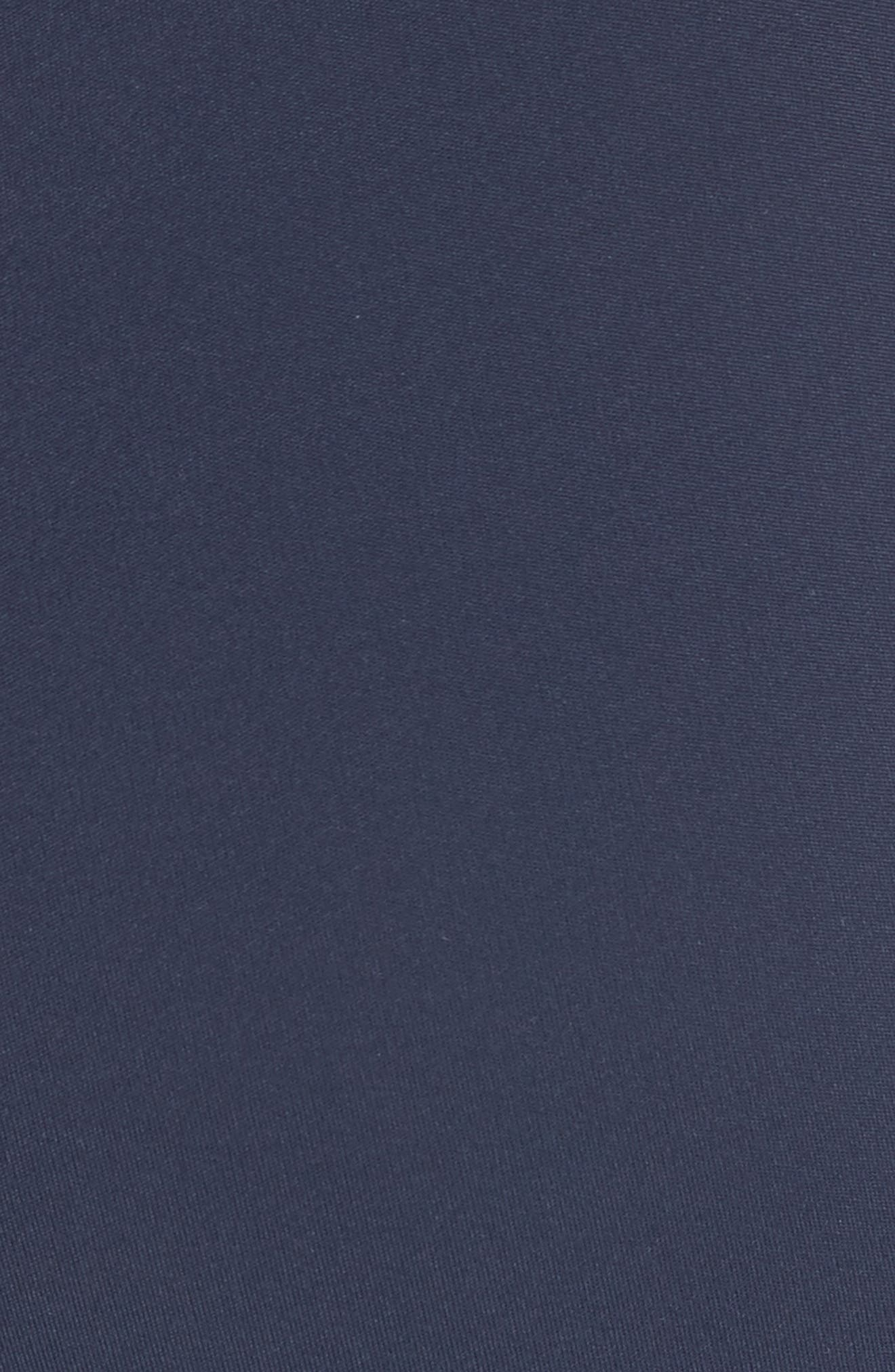 Diagonal Stripe Leggings,                             Alternate thumbnail 5, color,                             Tory Navy