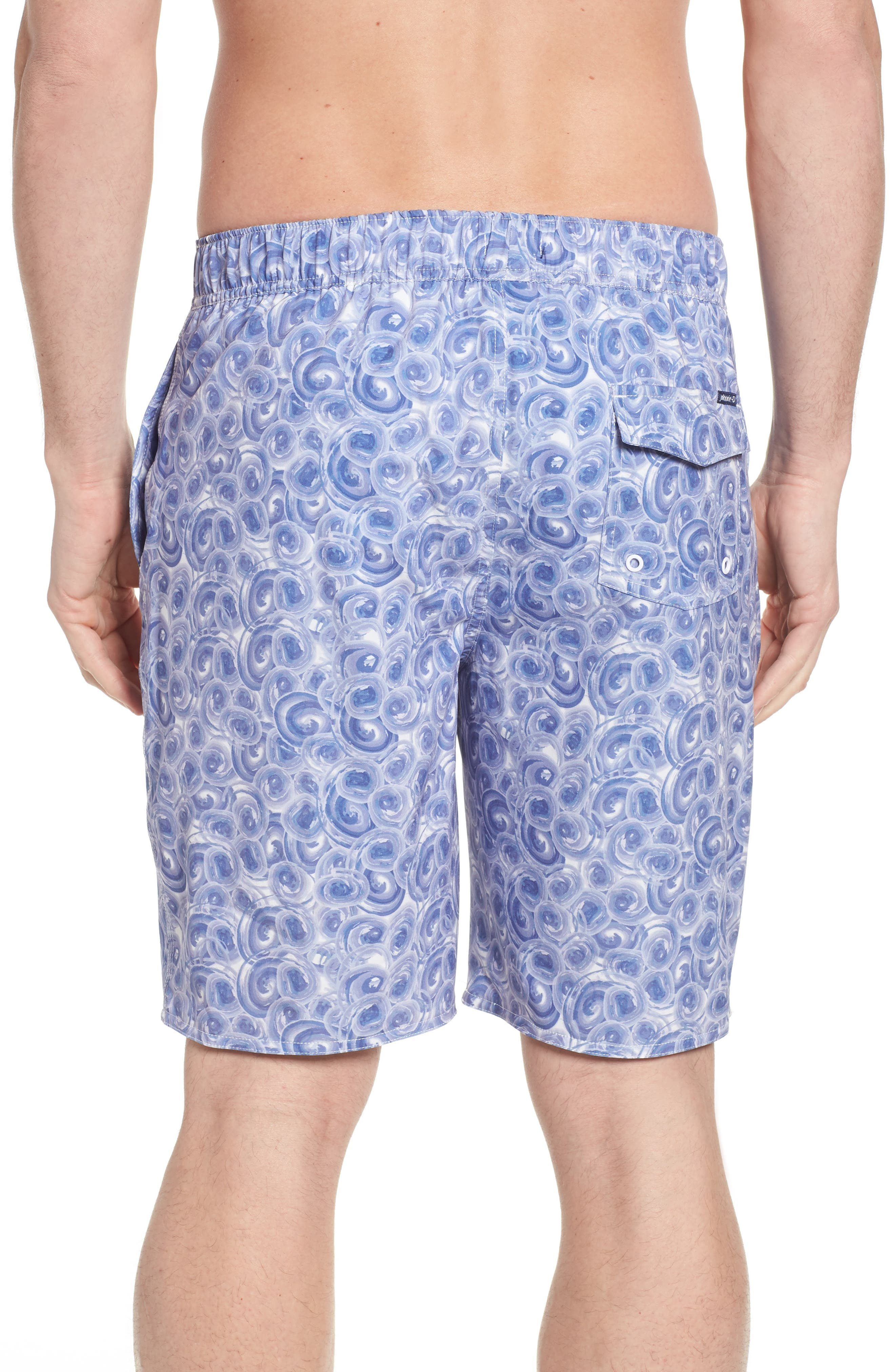 High Tide Regular Fit Board Shorts,                             Alternate thumbnail 2, color,                             Gulf Blue