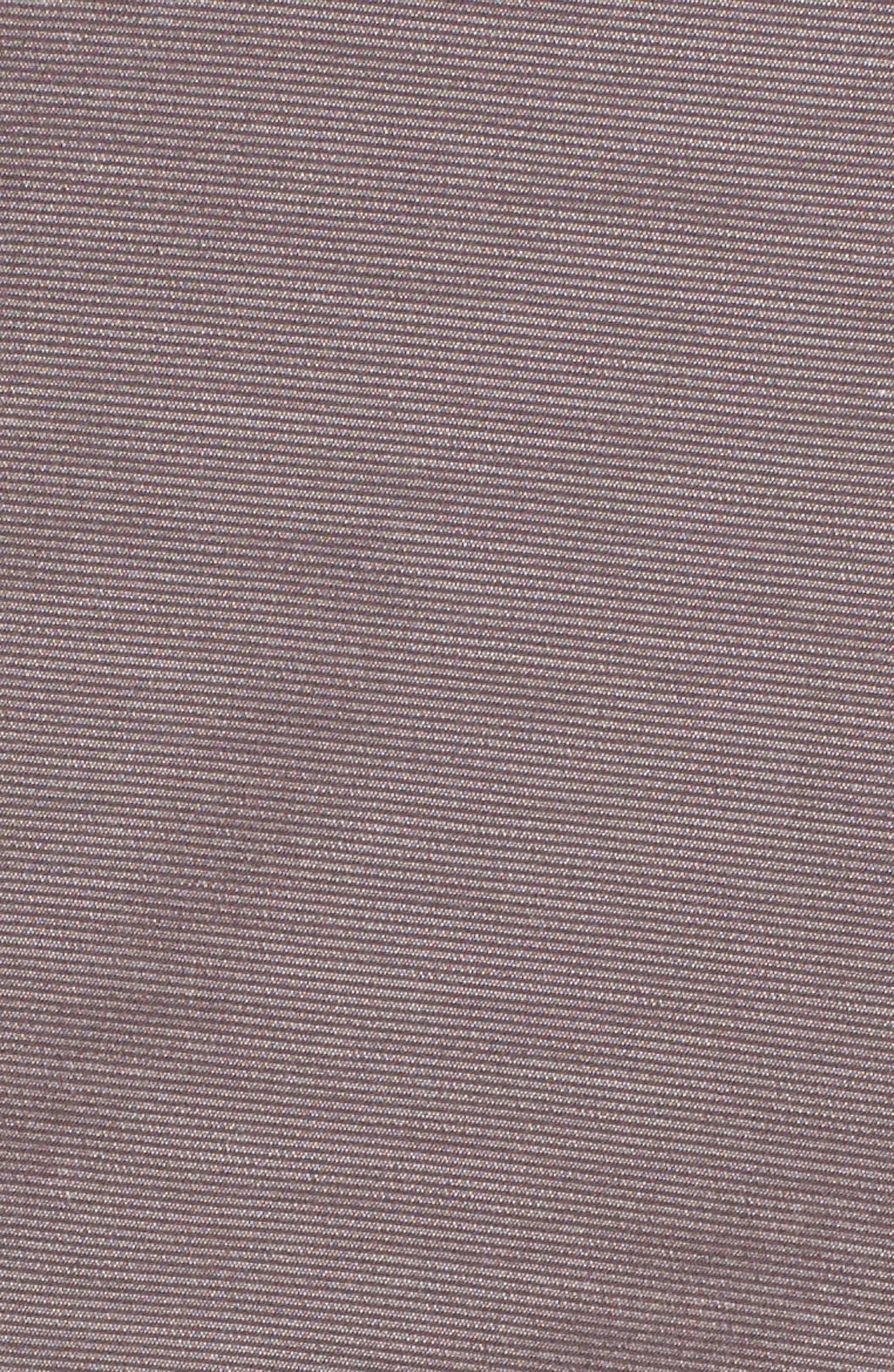 Wyatt Regular Fit Stretch Shorts,                             Alternate thumbnail 5, color,                             Steel