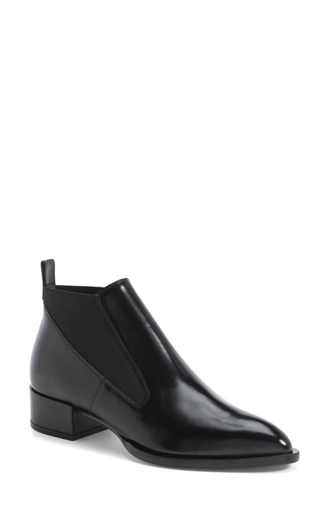 Alternate Image 1 Selected - Vince 'Yarrow' Leather Chelsea Ankle Boot (Women)