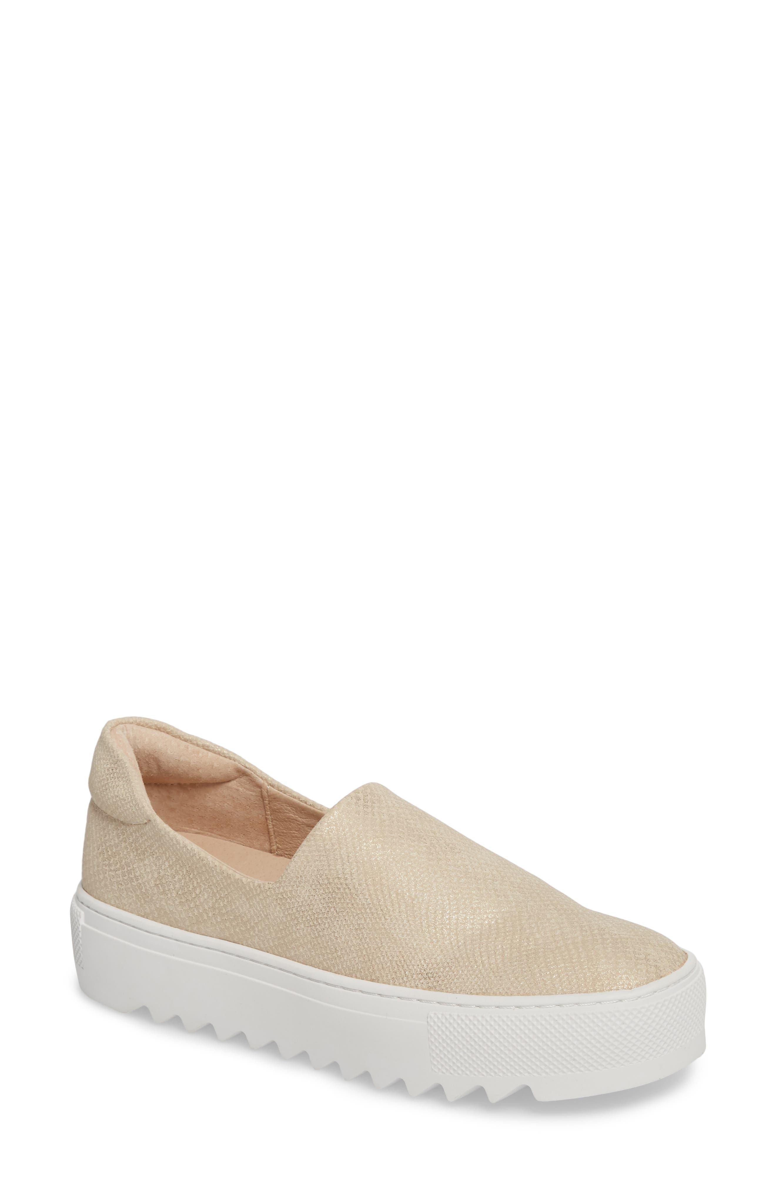 JSlides Sage Platform Slip-On Sneaker (Women)