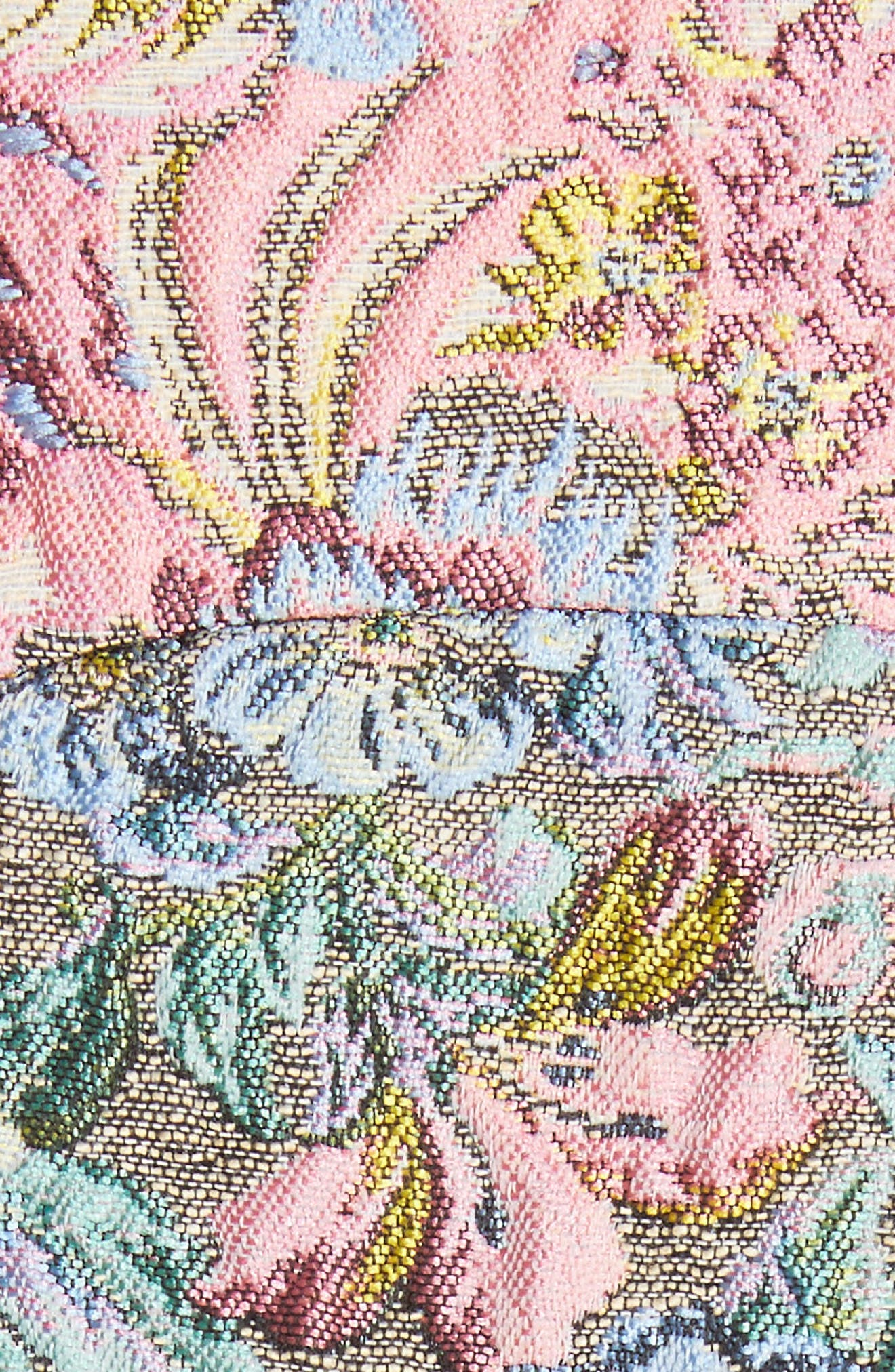 Chatham Brocade Miniskirt,                             Alternate thumbnail 6, color,                             Couch