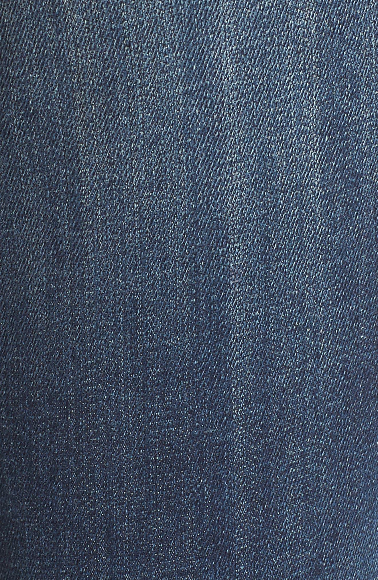 Jagger Skinny Jeans,                             Alternate thumbnail 6, color,                             Medium Wash