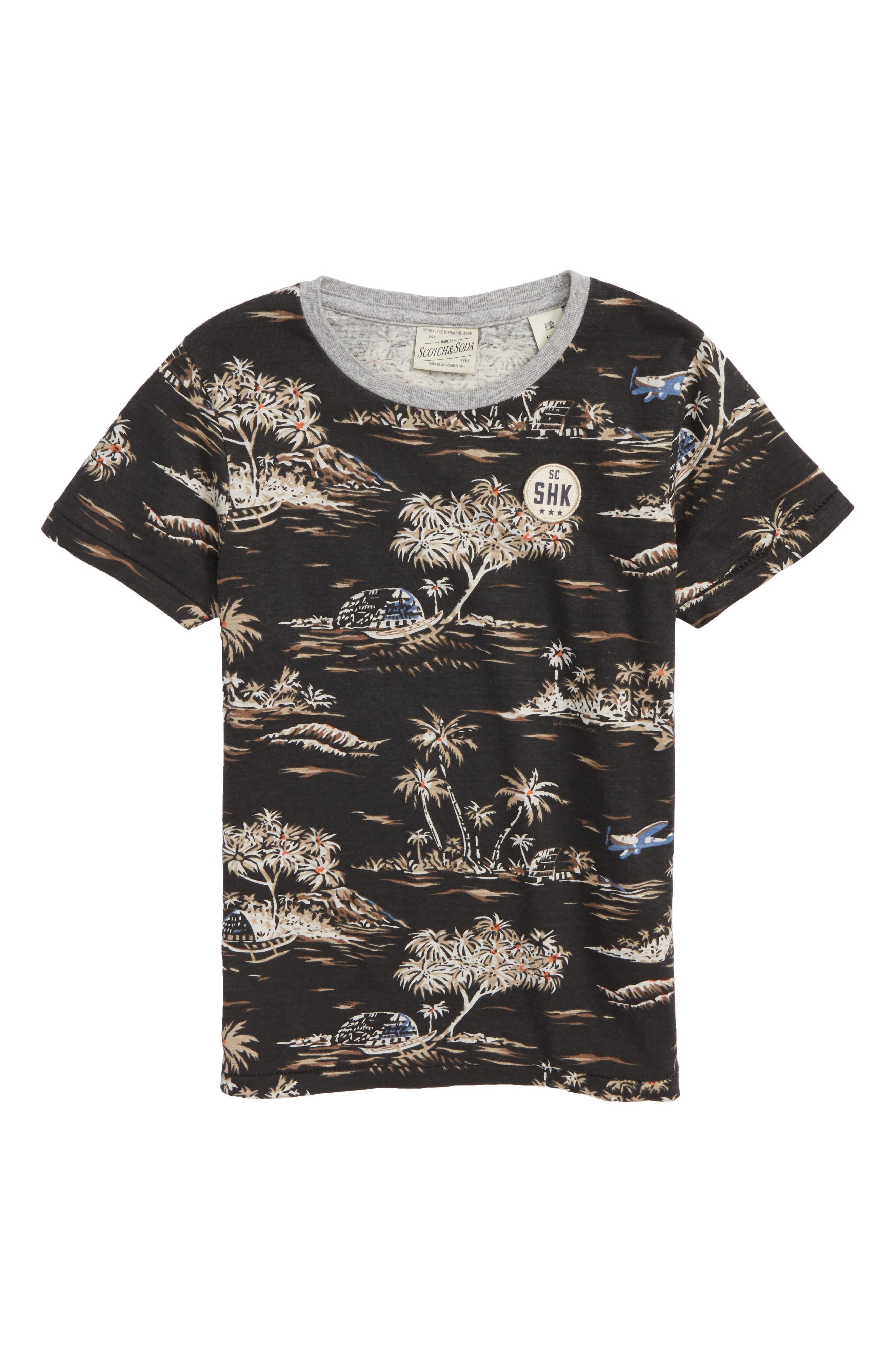 Rocker Graphic T-Shirt,                         Main,                         color, Black