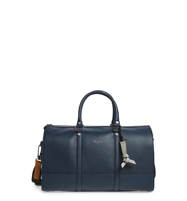 Ted Baker London Leather Duffel Bag -
