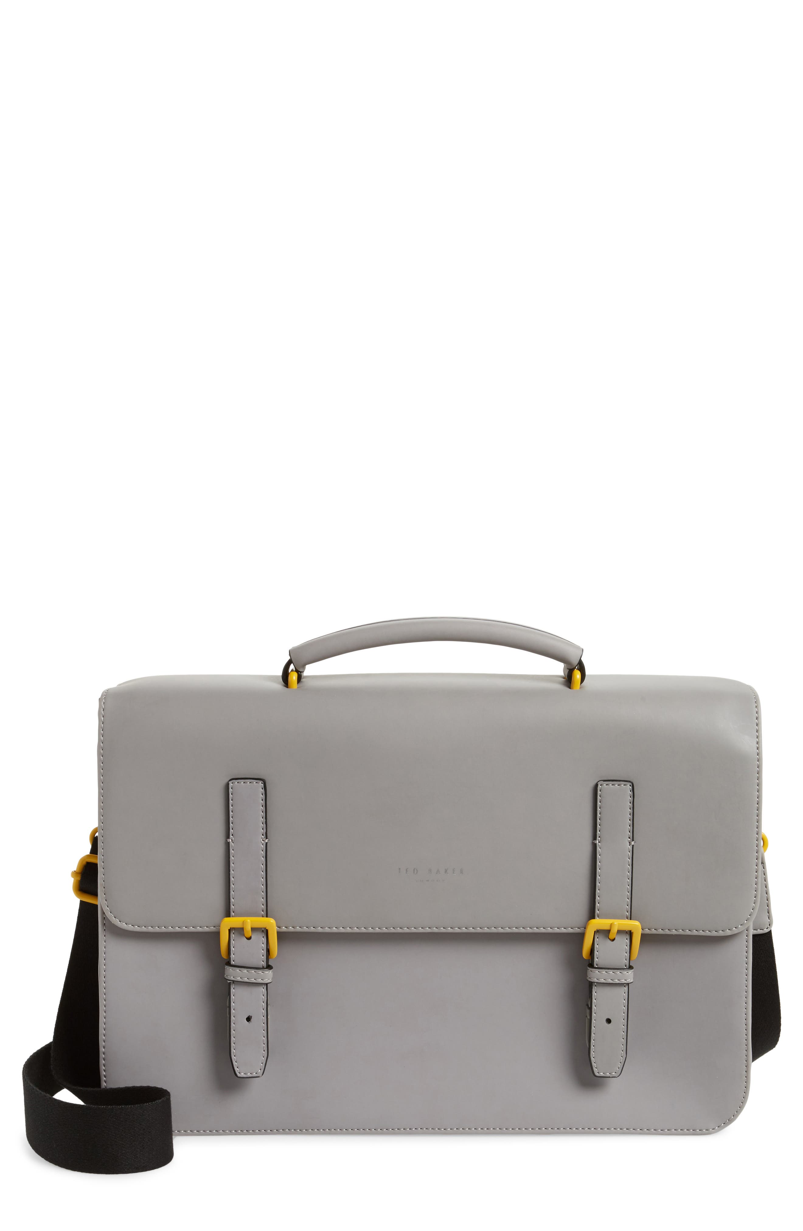Alternate Image 1 Selected - Ted Baker London Barma Rubberized Briefcase