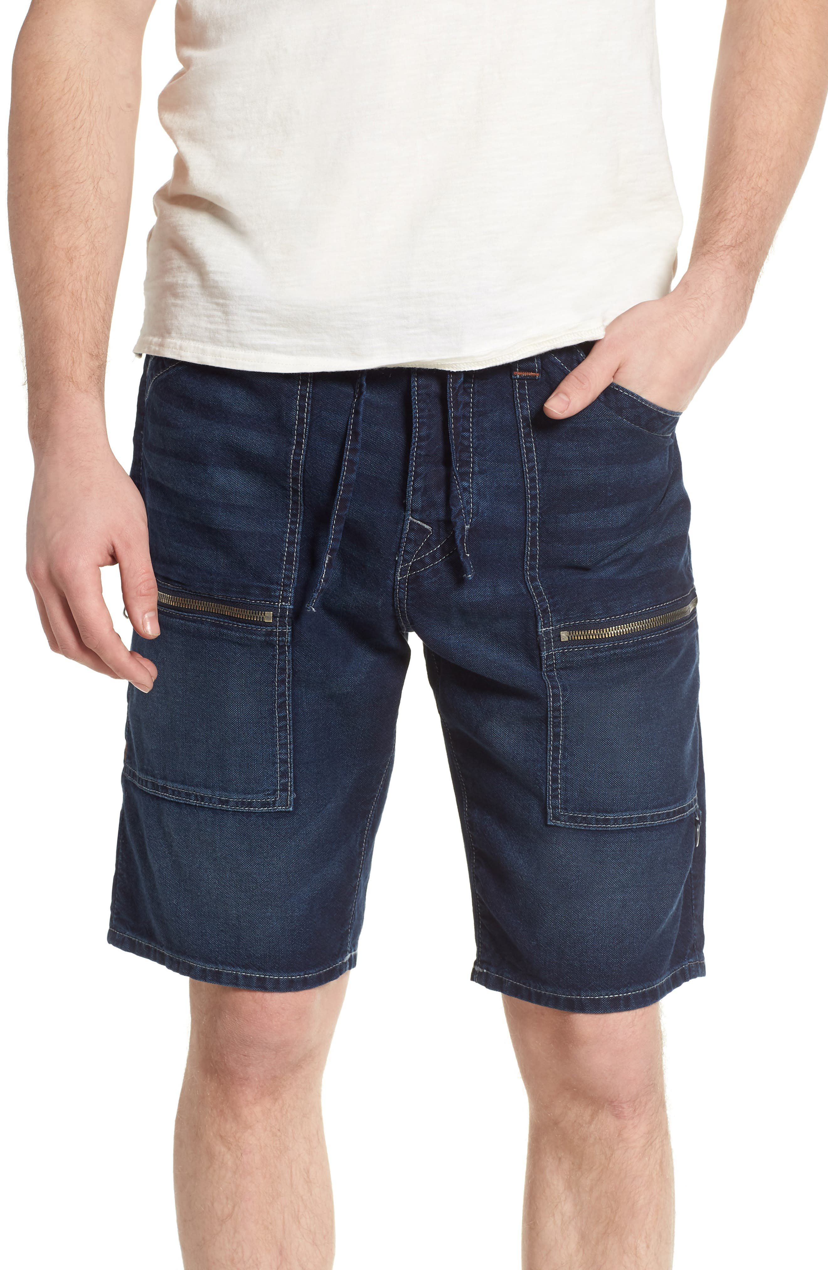 True Religion Brand Jeans Trail Utility Shorts