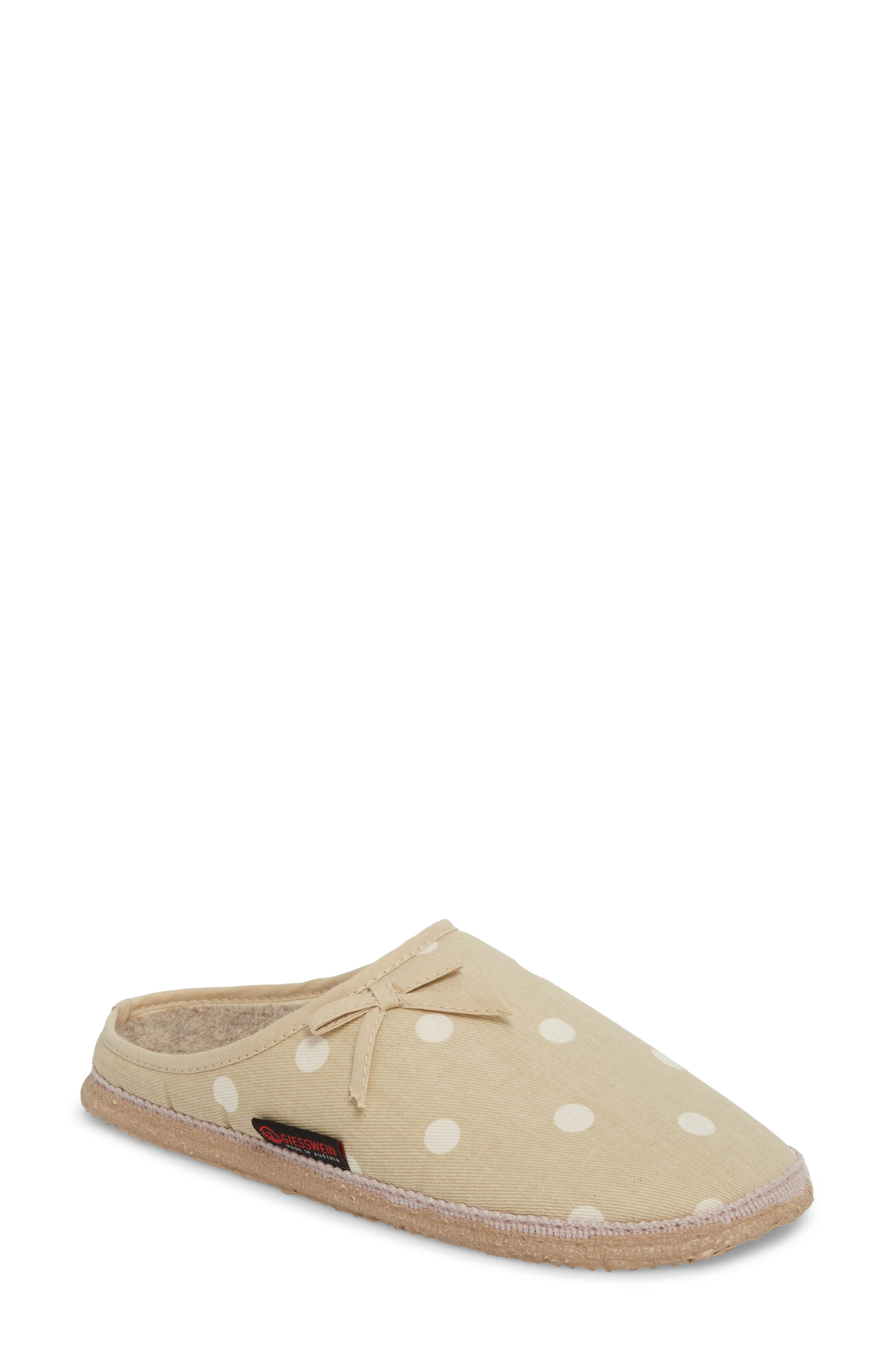 Meadow Slipper,                         Main,                         color, Natural Fabric