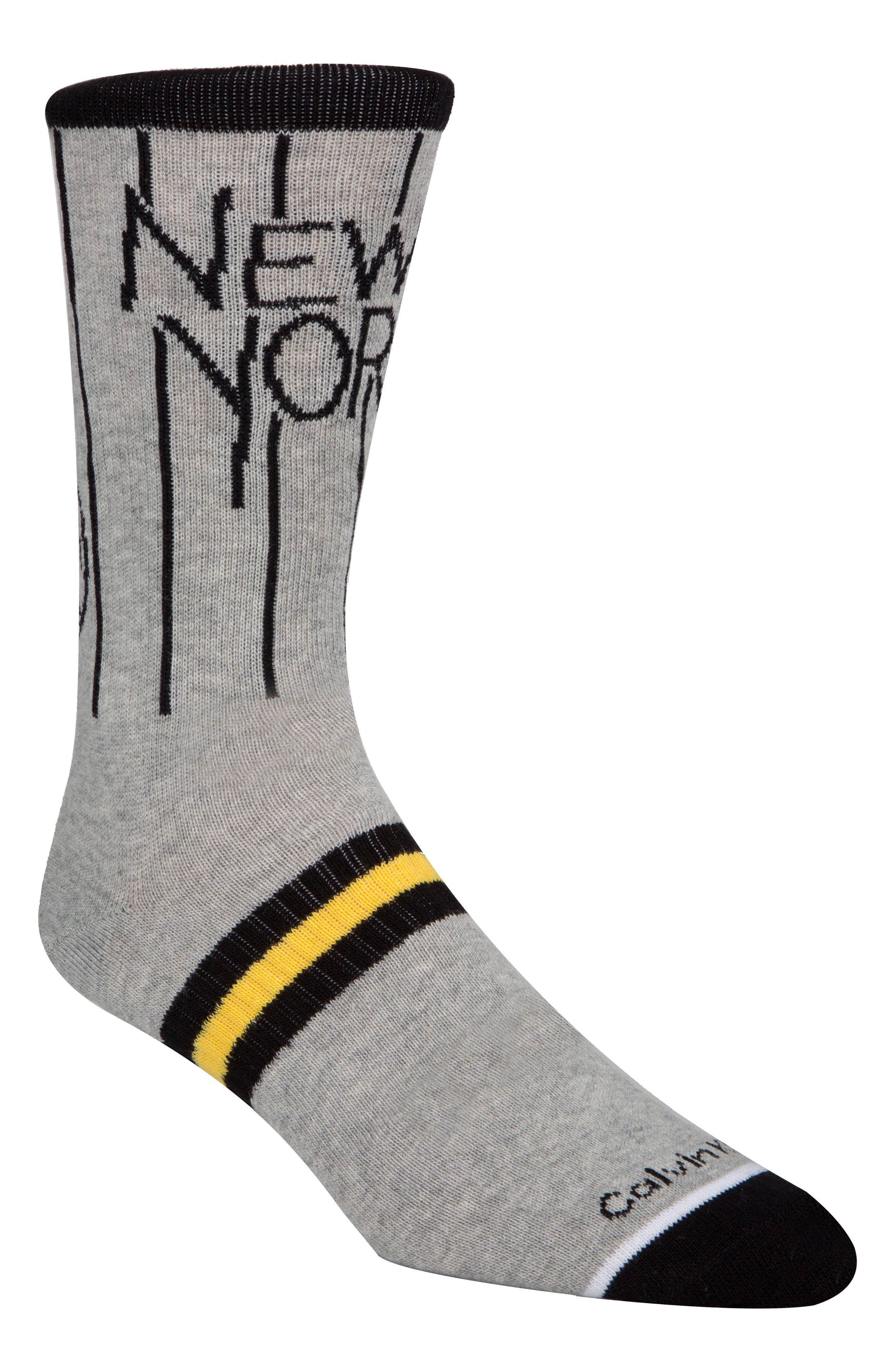 Alternate Image 1 Selected - Calvin Klein Team New York Socks