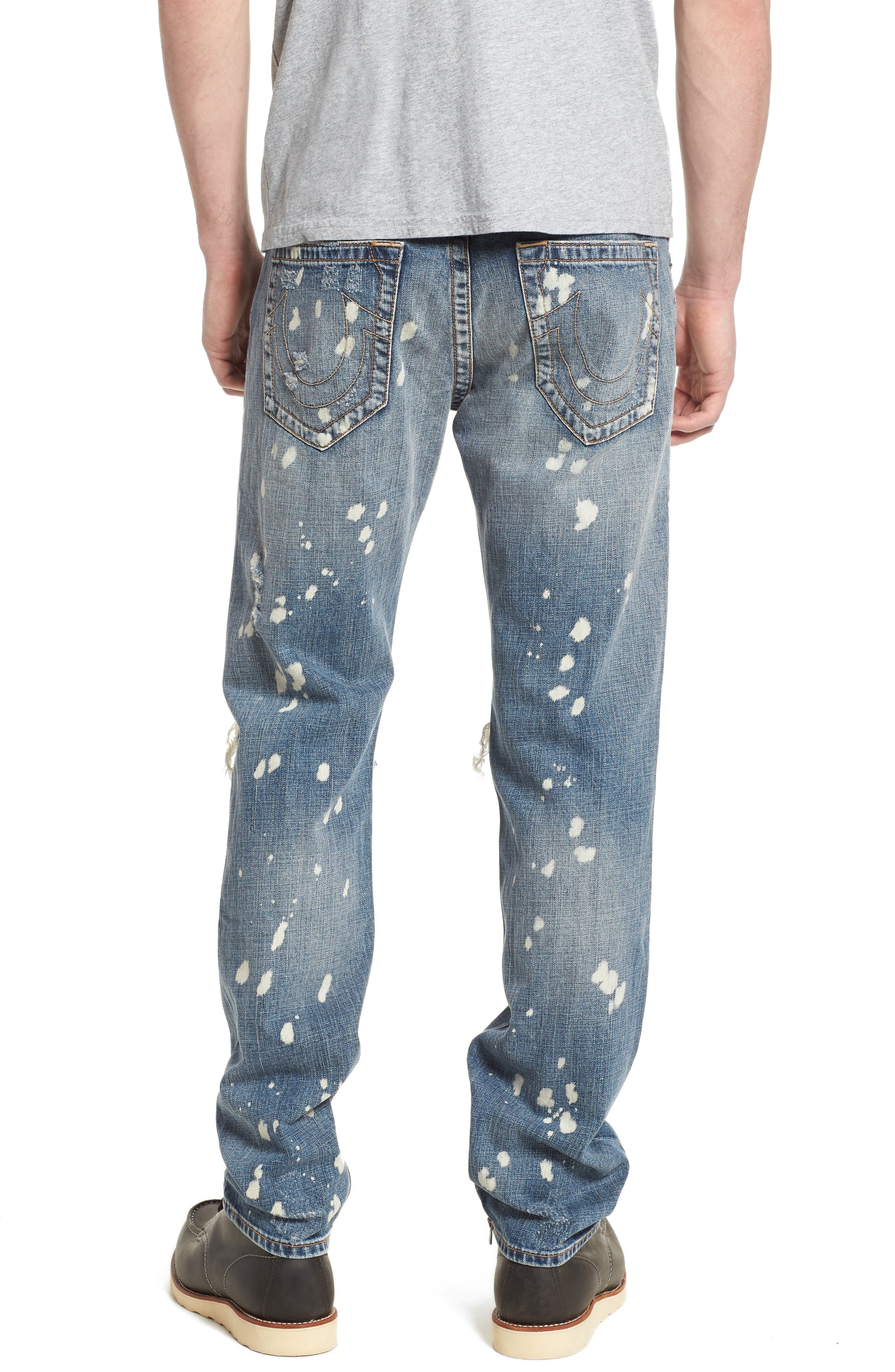 Rocco Skinny Fit Jeans,                             Alternate thumbnail 2, color,                             Cyber Rebel