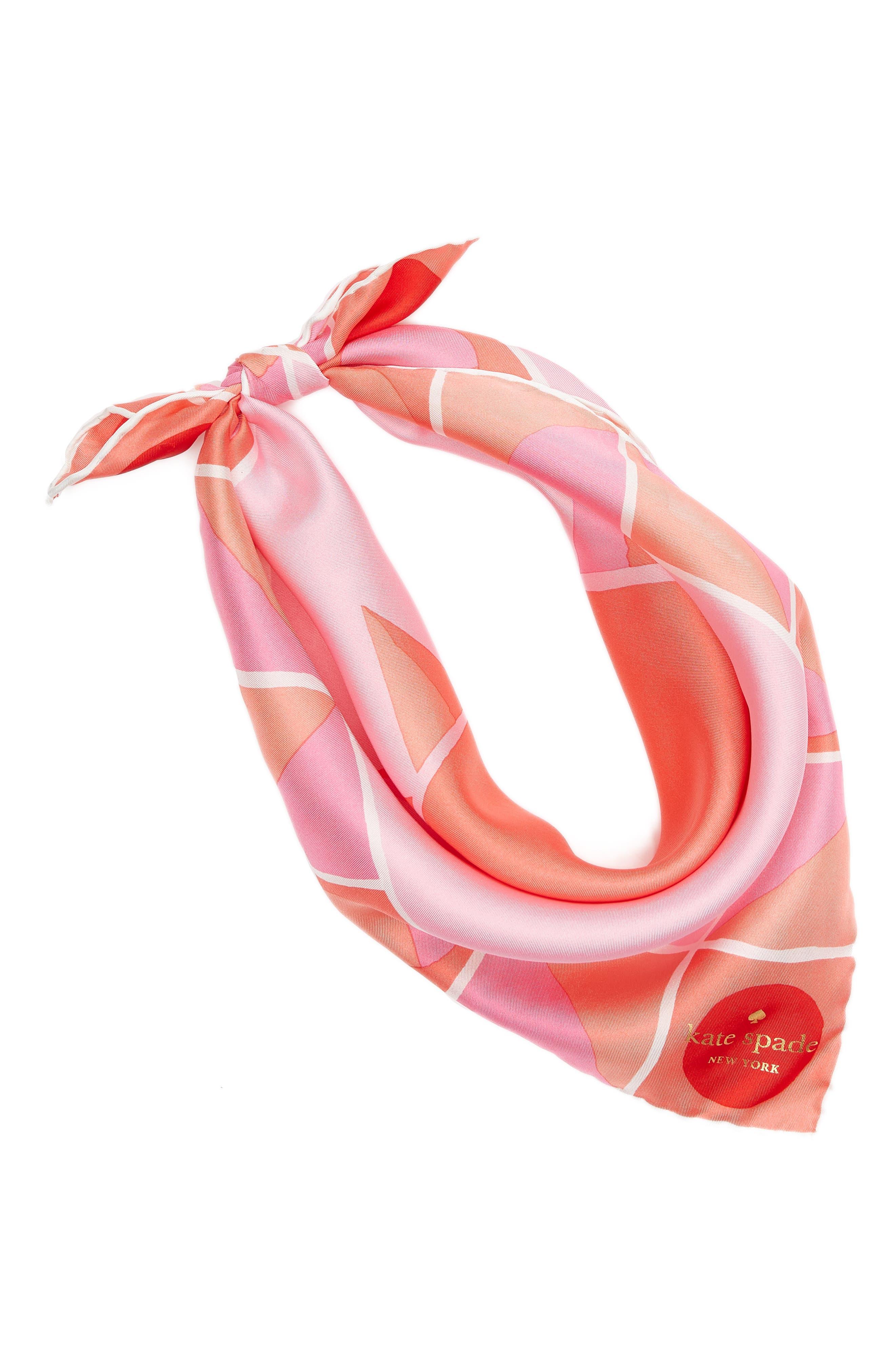 sun silk bandana,                             Alternate thumbnail 2, color,                             Surf Pink