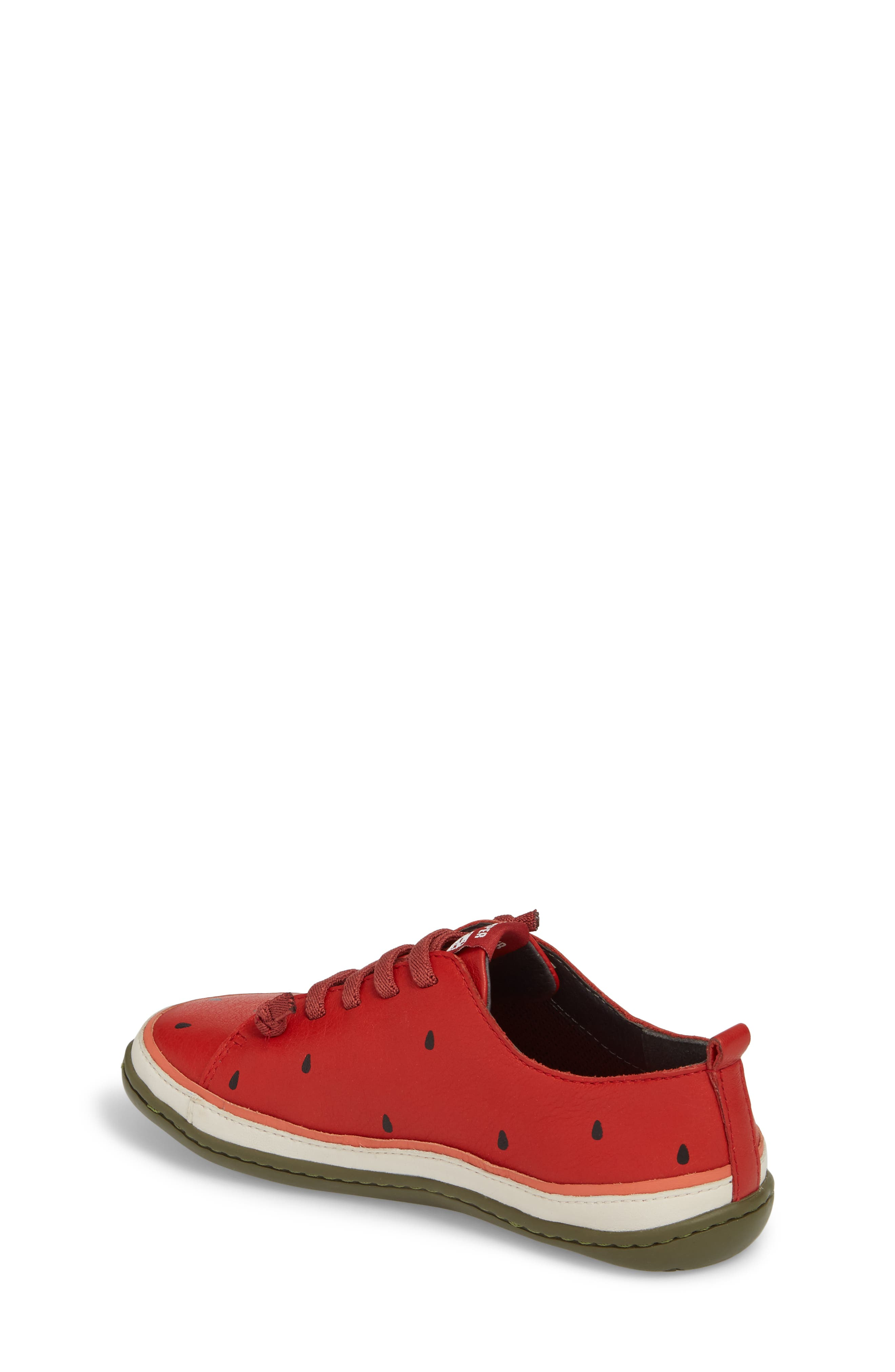 Twins Watermelon Sneaker,                             Alternate thumbnail 2, color,                             Red