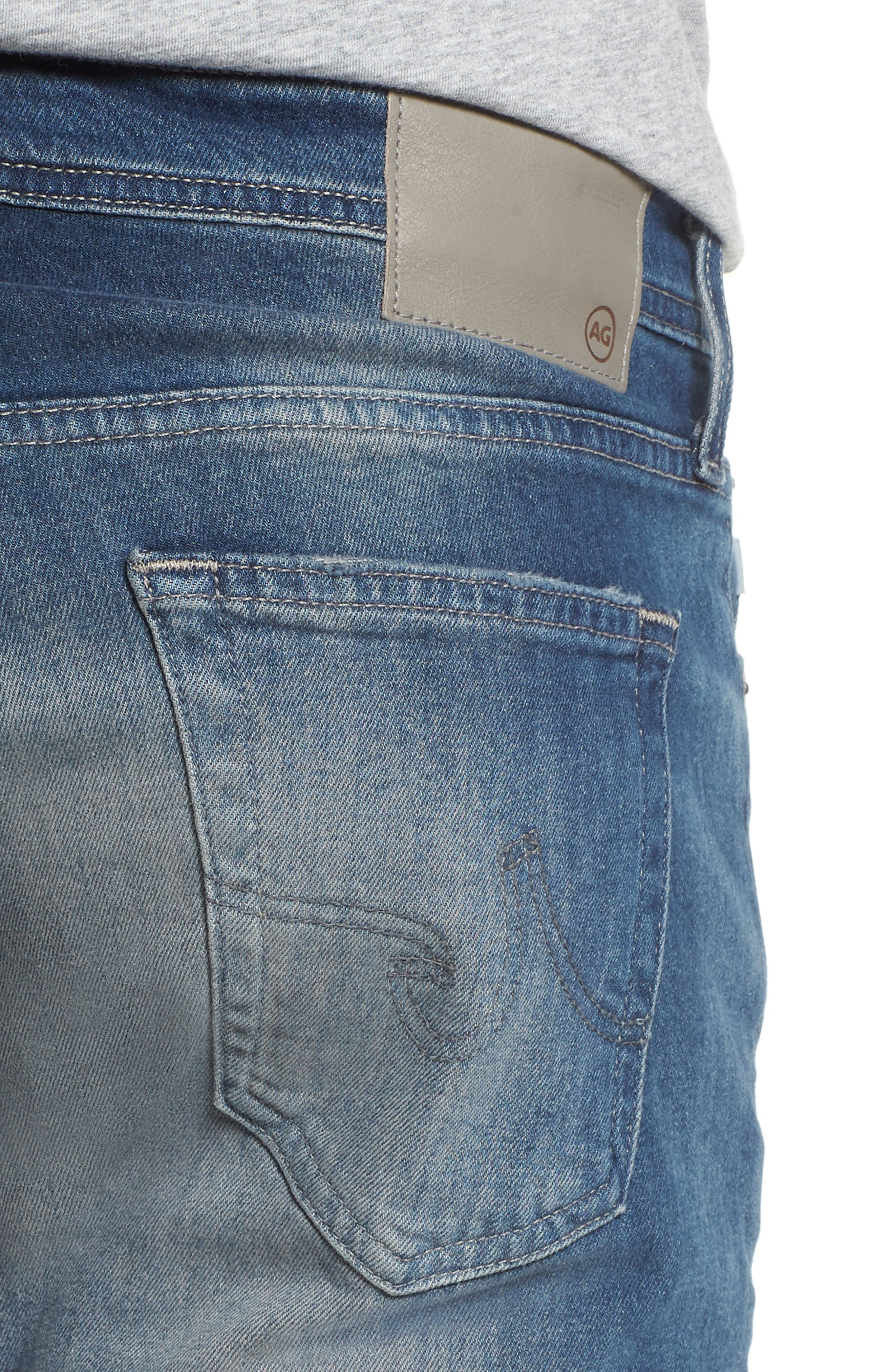 Dylan Skinny Fit Jeans,                             Alternate thumbnail 4, color,                             12 Years Off Ramp