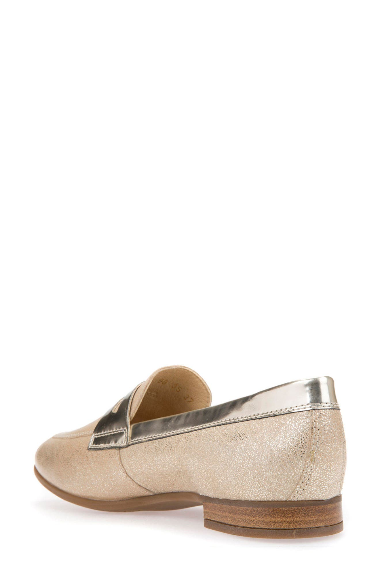 Alternate Image 2  - Geox Marlyna Penny Loafer (Women)