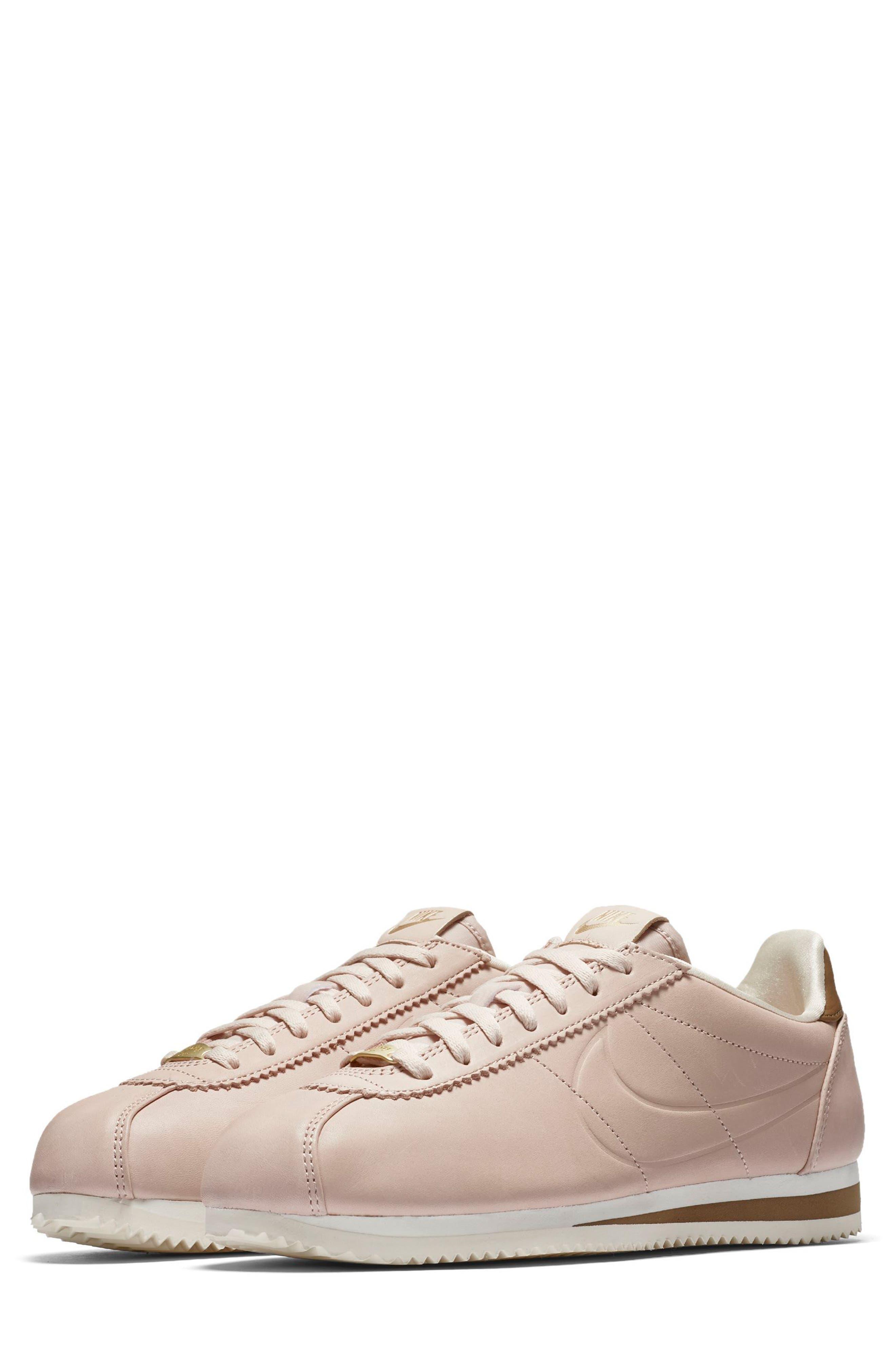 x Maria Sharapova LA Cortez Premium Sneaker,                             Main thumbnail 1, color,                             Particle Beige/Particle Beige
