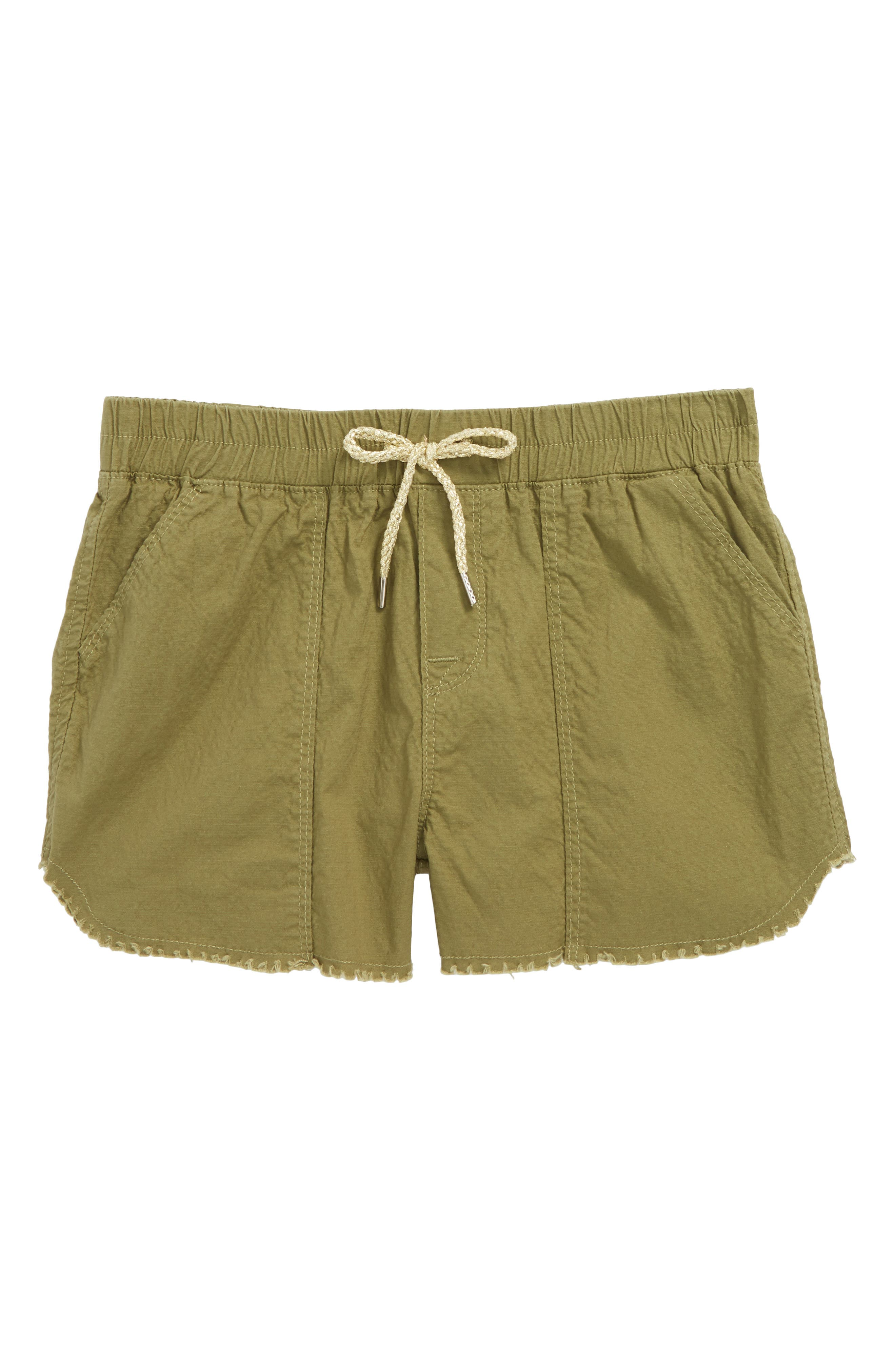 Surplus Chambray Shorts,                             Main thumbnail 1, color,                             Faded Olive