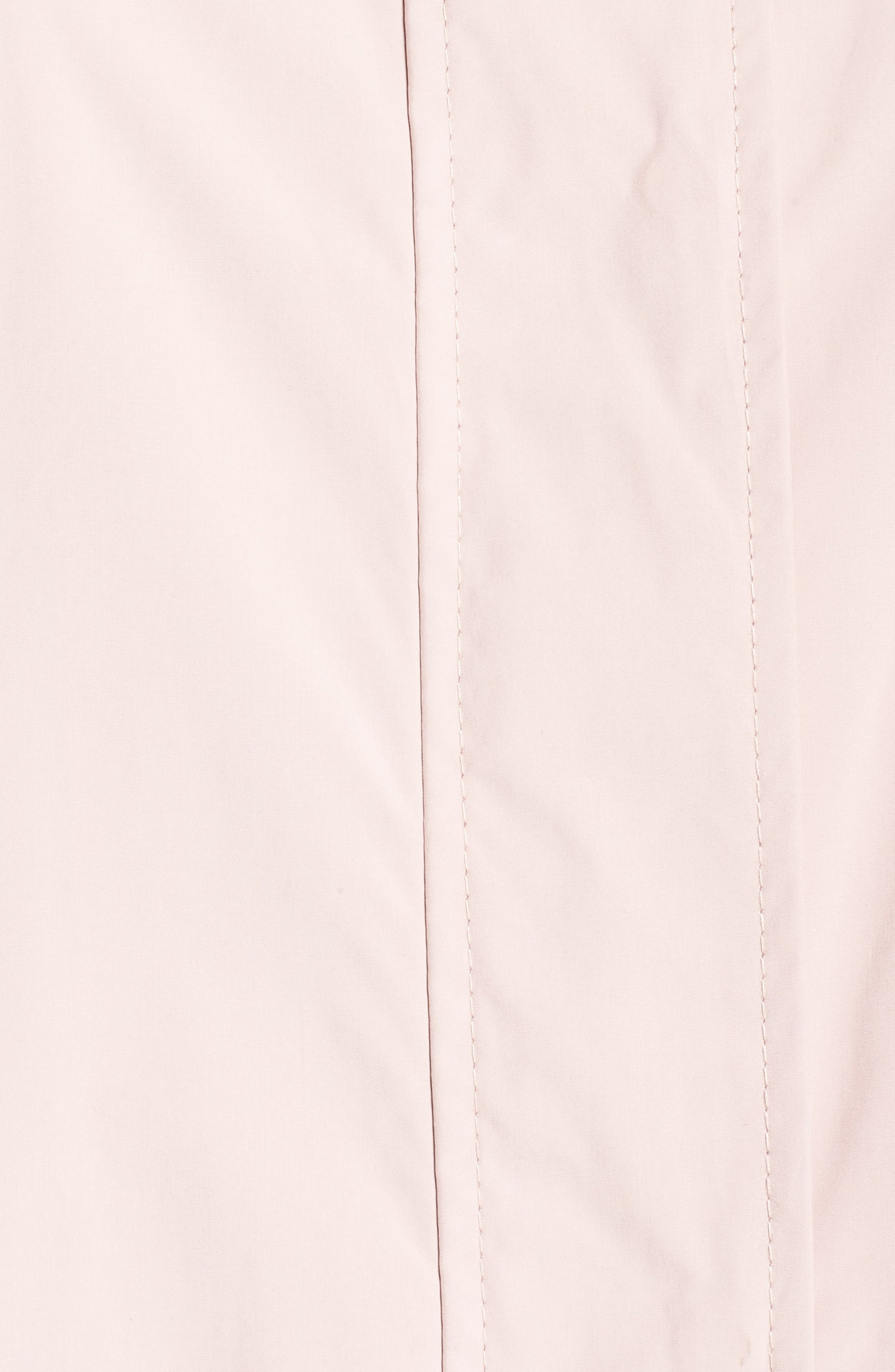 Cole Haan Water Resistant Rain Jacket,                             Alternate thumbnail 6, color,                             Canyon Rose