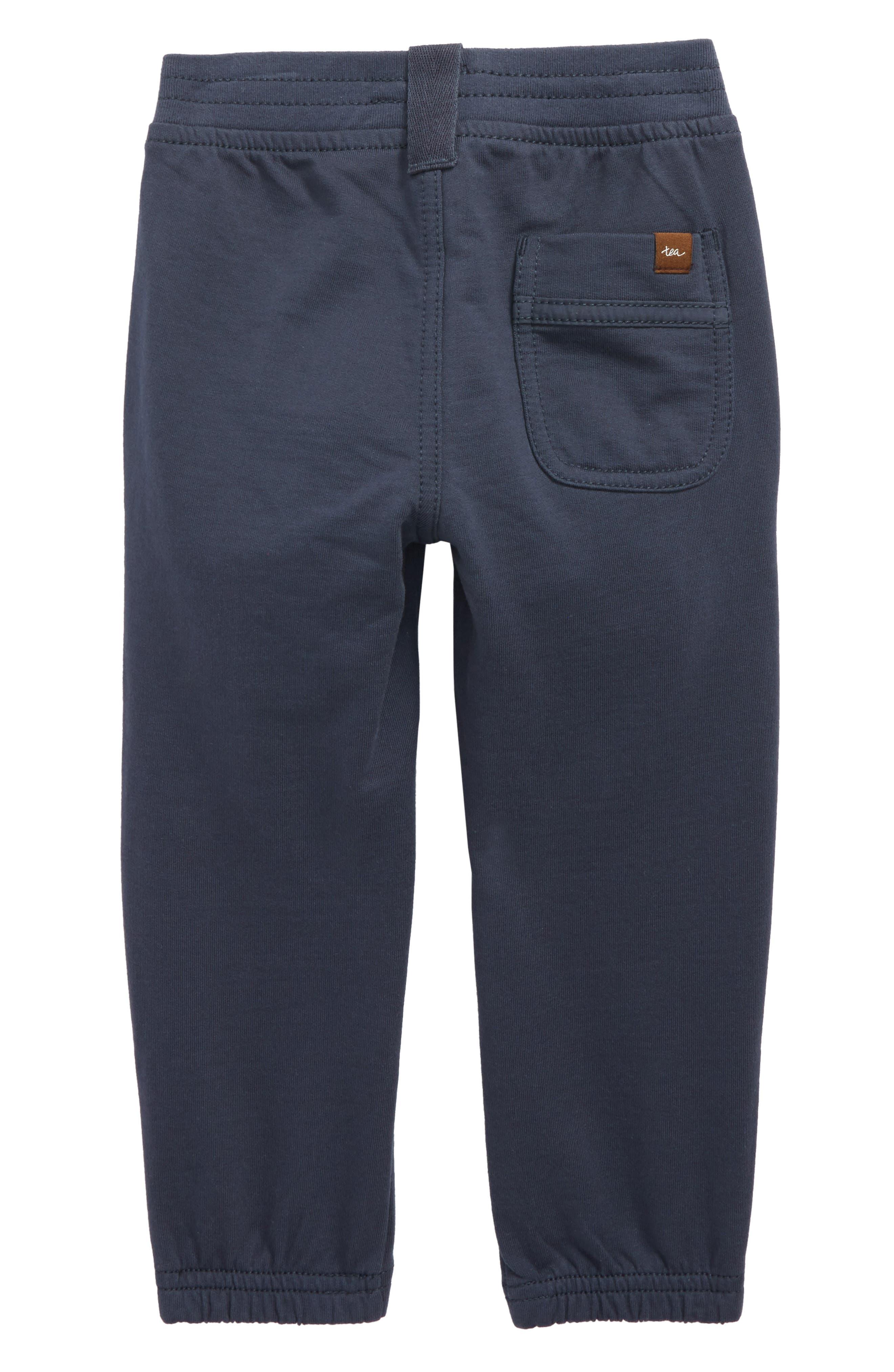 French Terry Moto Pants,                             Alternate thumbnail 2, color,                             Indigo