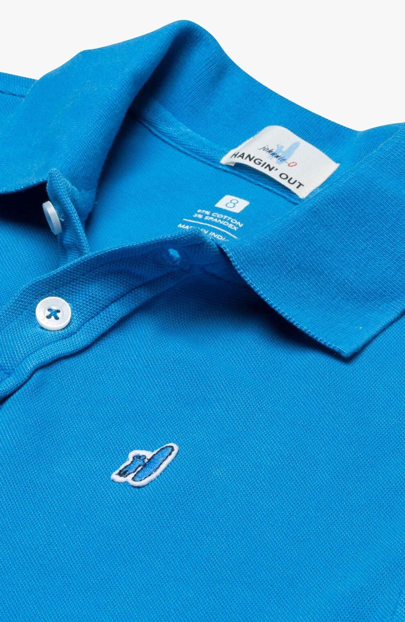 Duncan Solid Polo,                             Alternate thumbnail 2, color,                             Gemini Blue