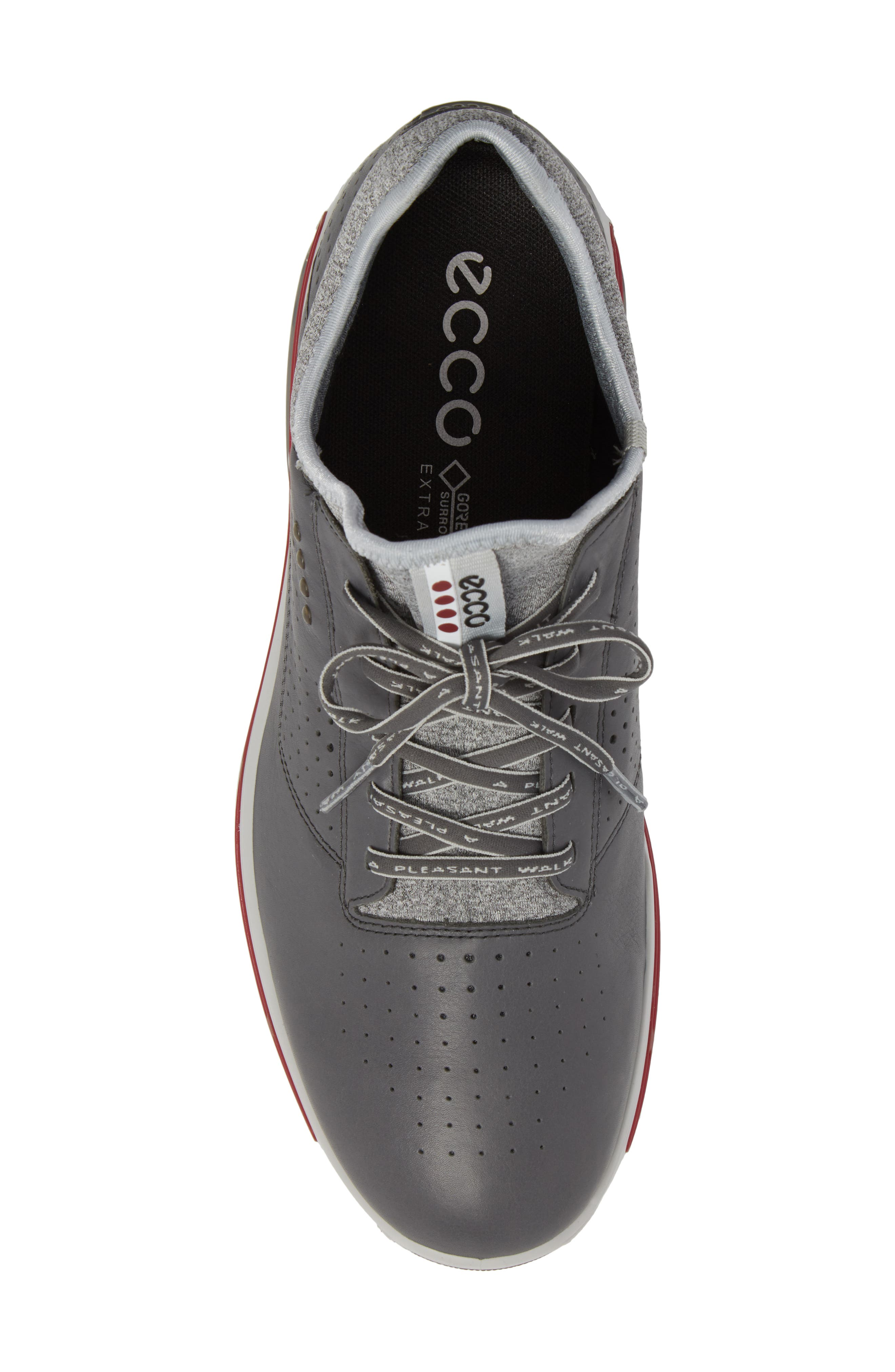 Cool 18 Gore-Tex Golf Shoe,                             Alternate thumbnail 5, color,                             Dark Shadow Leather