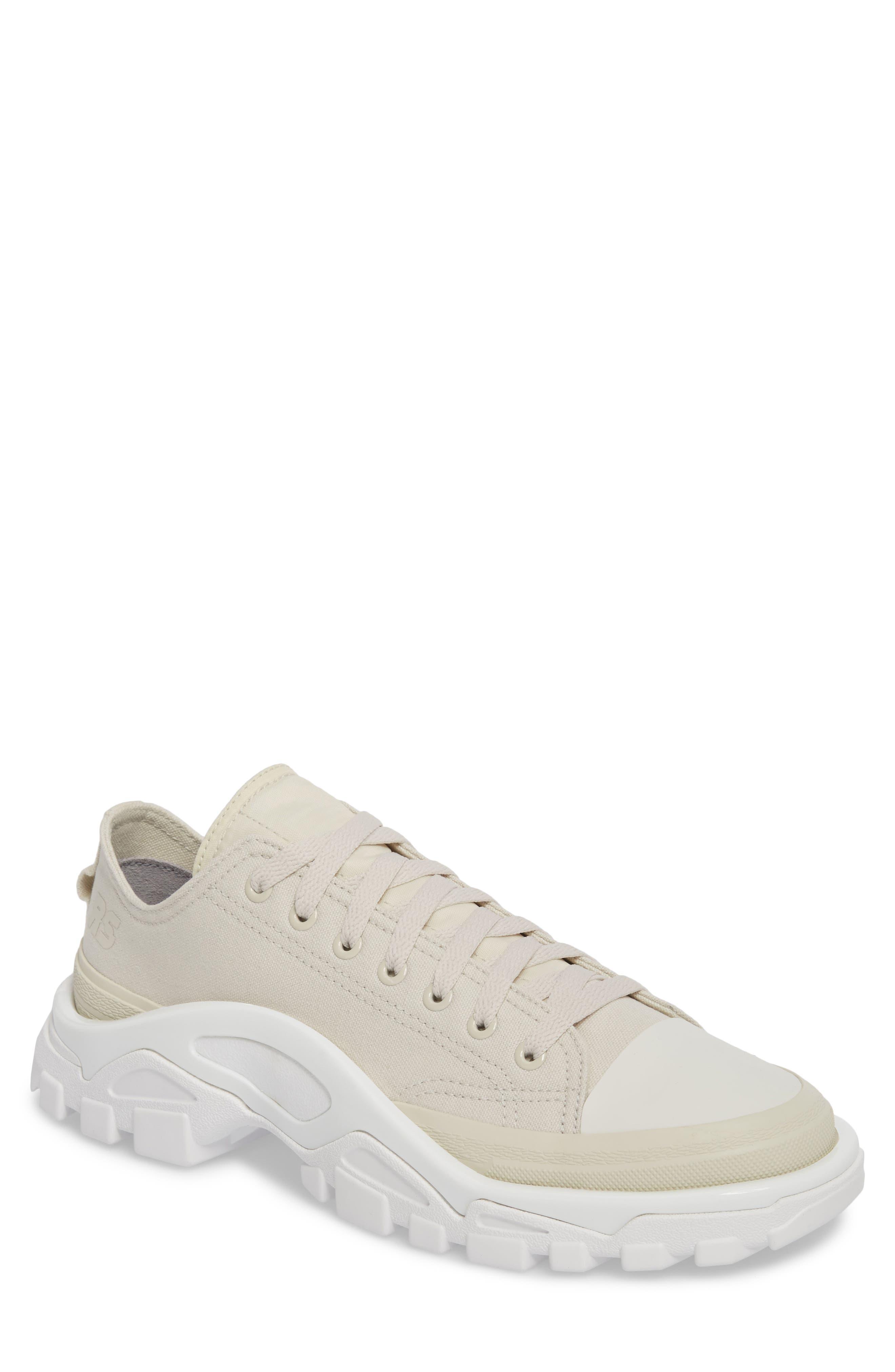 Detroit Low Top Sneaker,                         Main,                         color, Beige/ White
