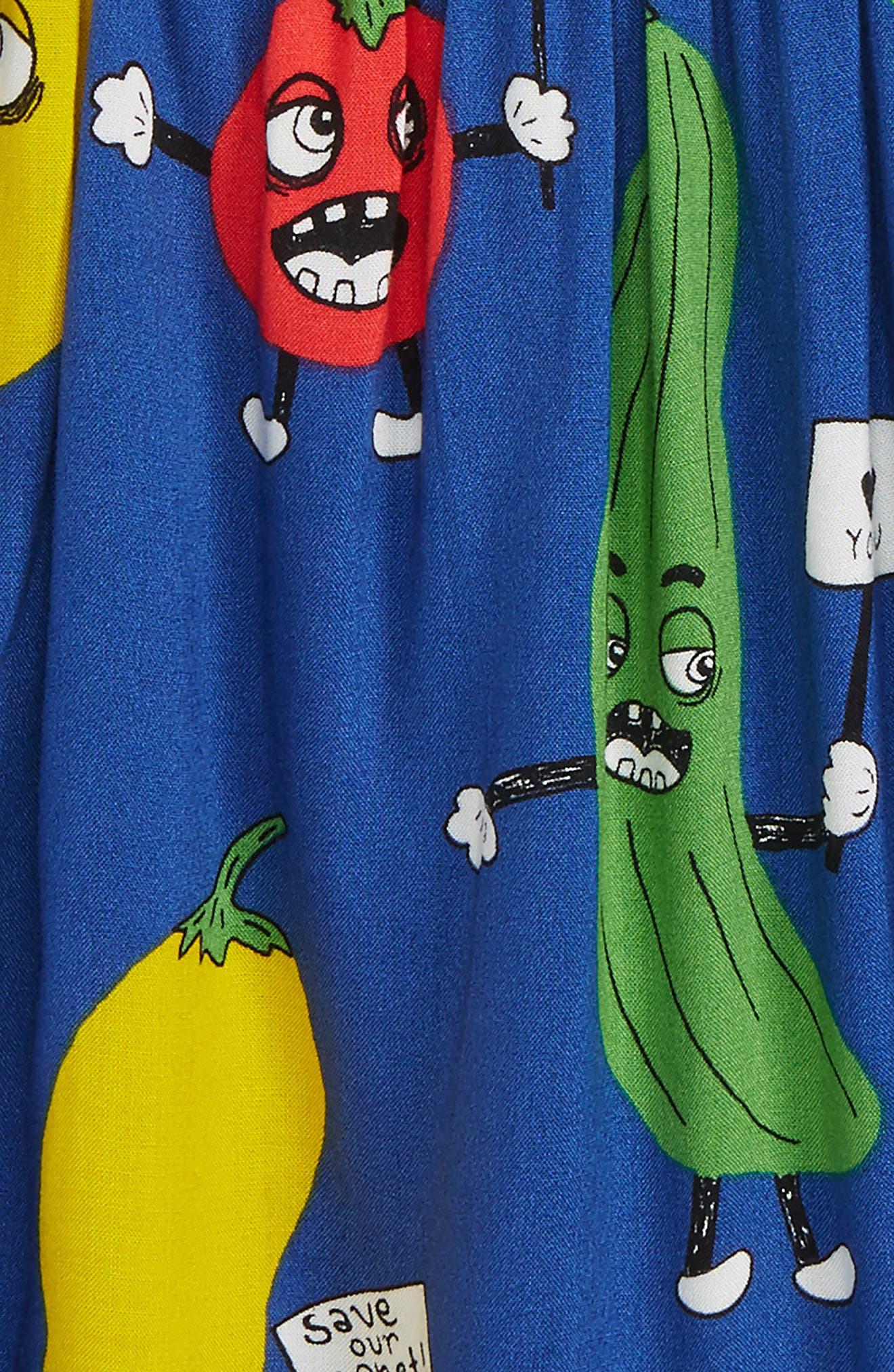 Veggie Skirt,                             Alternate thumbnail 2, color,                             Blue