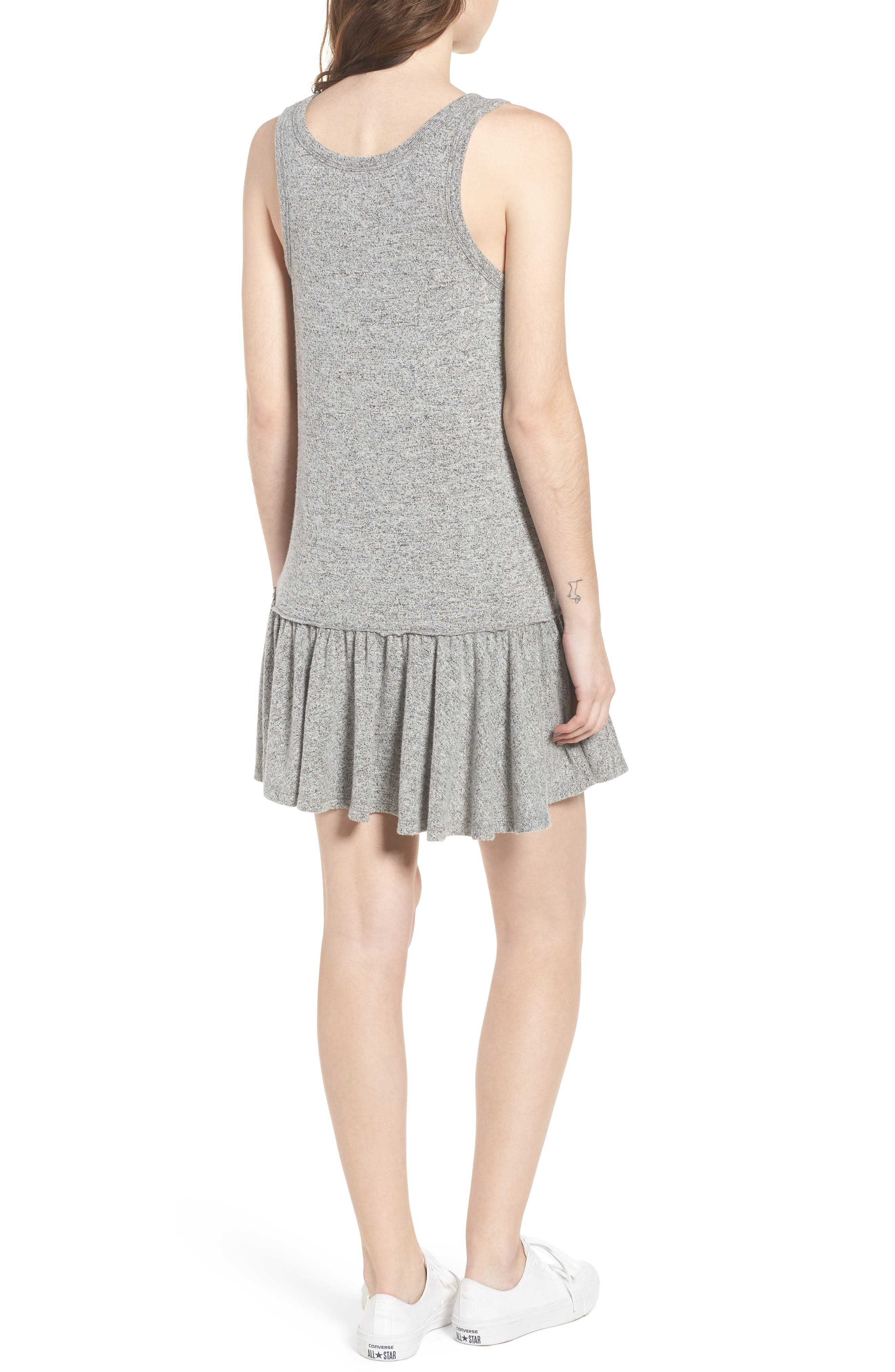 Summer in the City Tank Dress,                             Alternate thumbnail 2, color,                             Heather