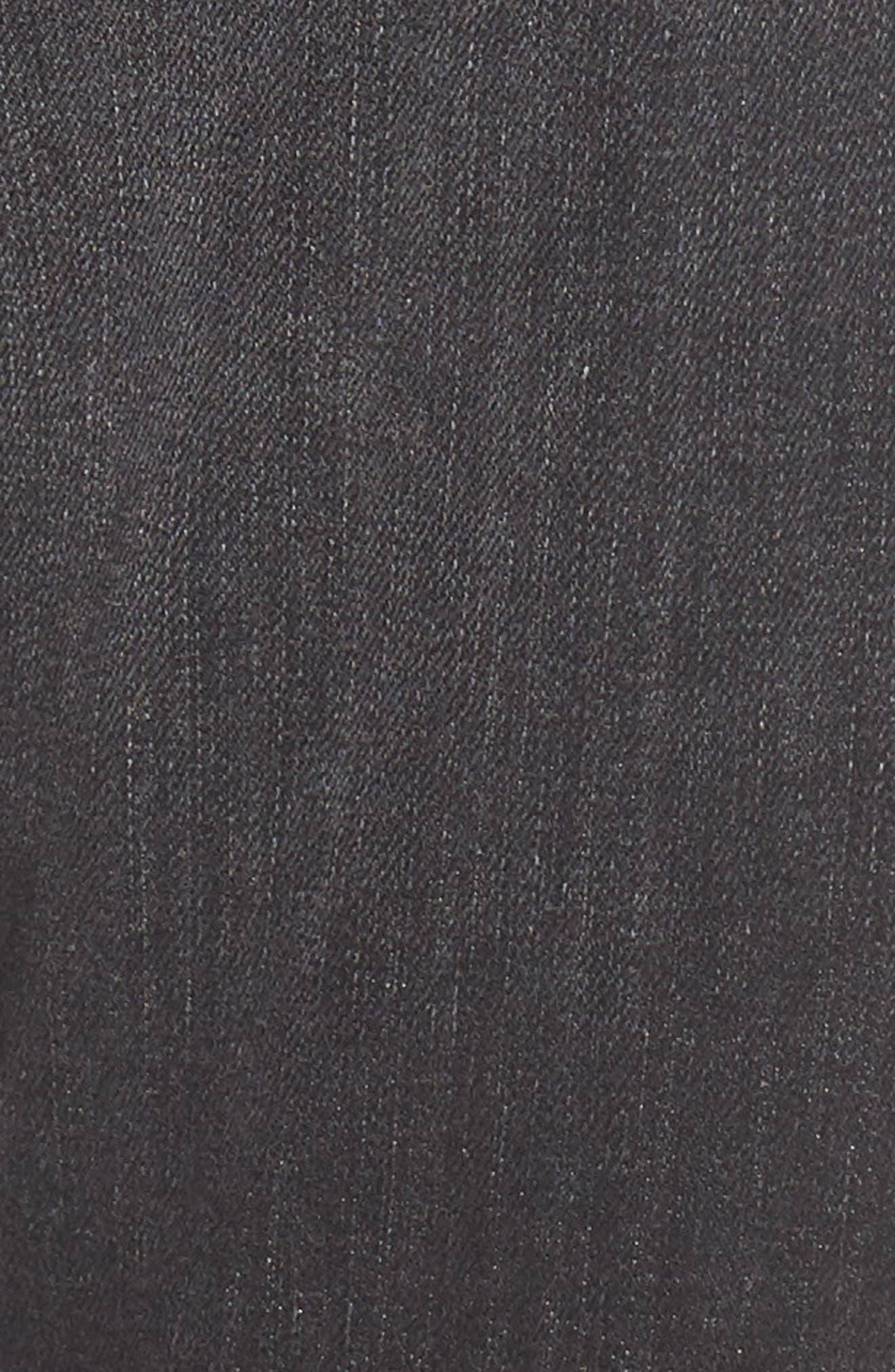 Vintage Holly High Waist Crop Skinny Jeans,                             Alternate thumbnail 6, color,                             Jawbreaker