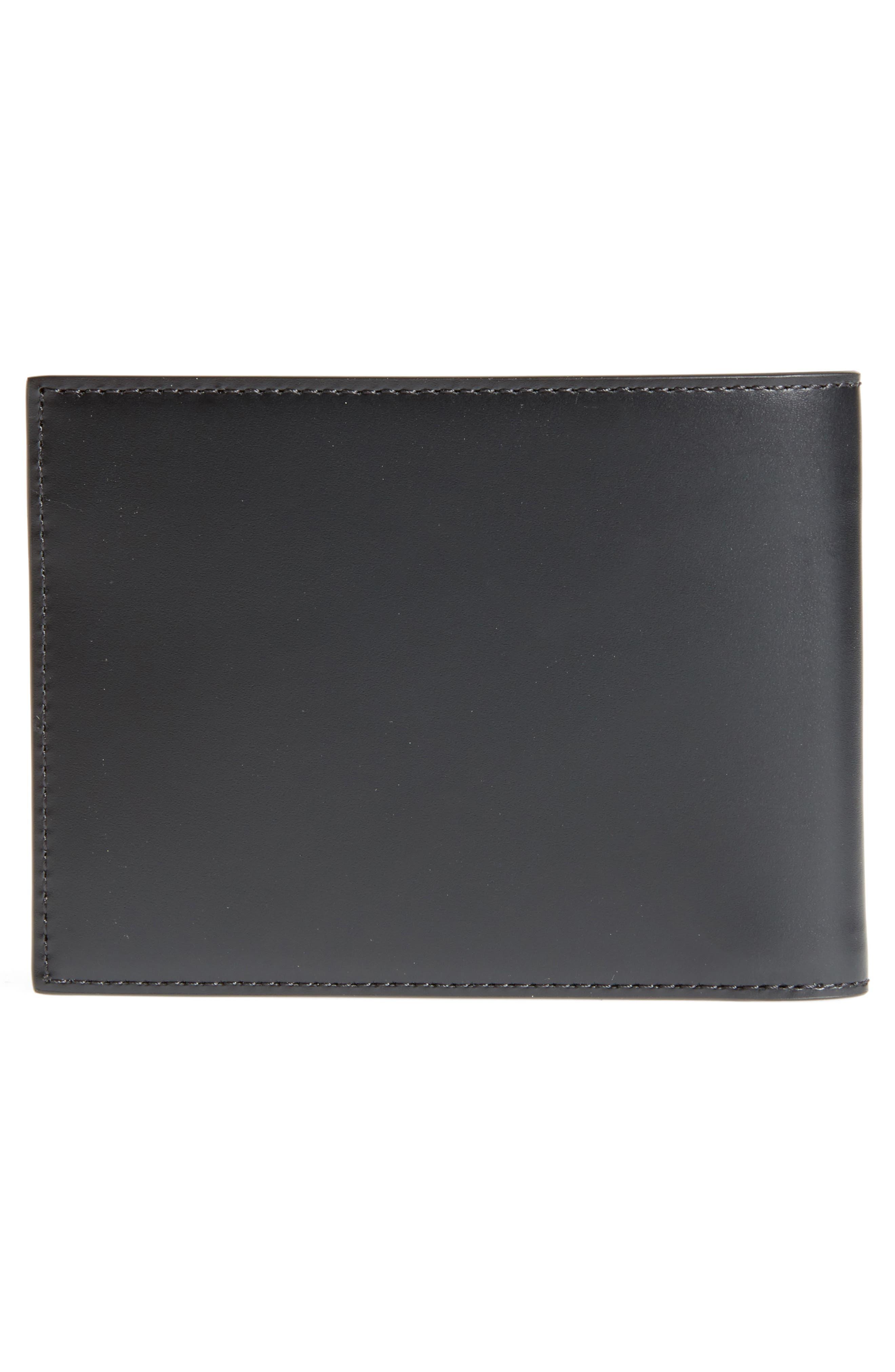 Alternate Image 2  - Givenchy Iris Logo Print Calfskin Leather Wallet