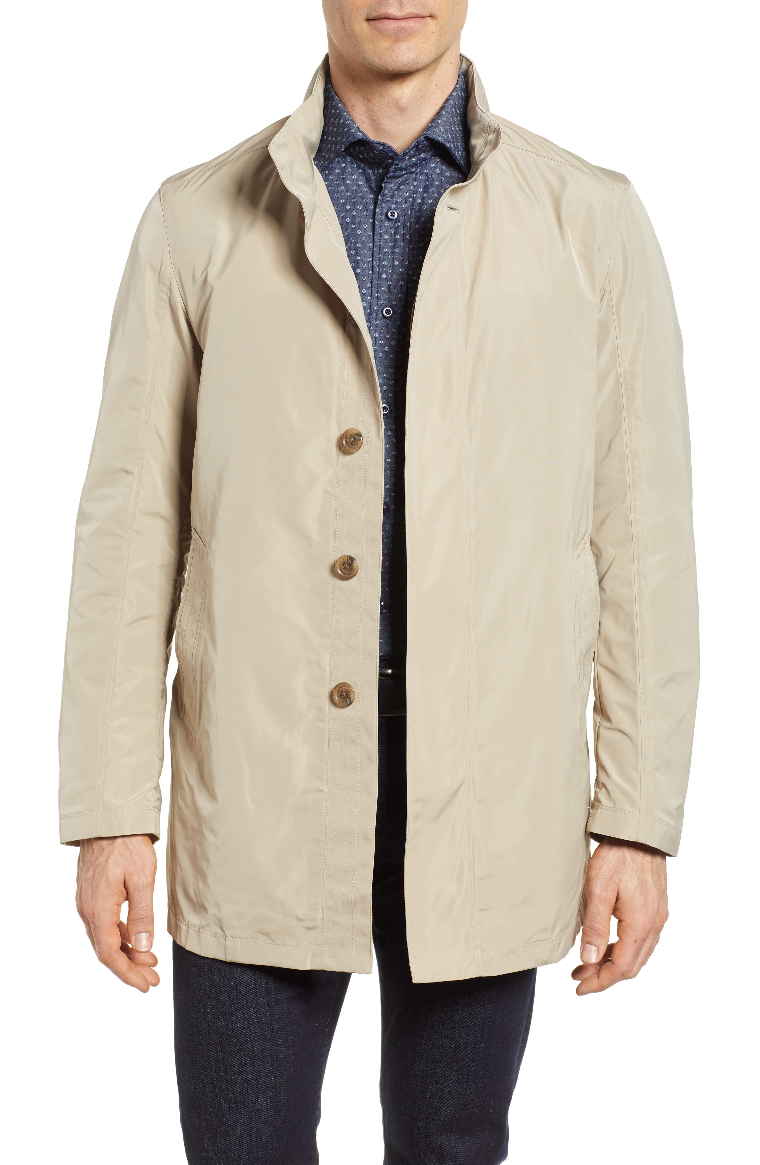 Getaway Raincoat,                         Main,                         color, Sand