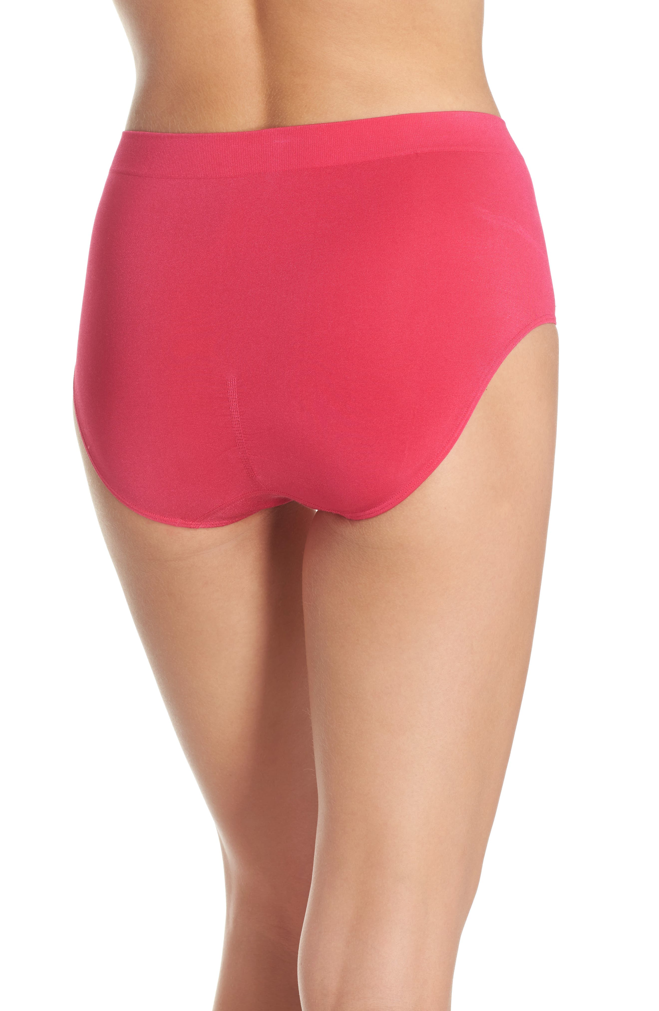 B Smooth Briefs,                             Alternate thumbnail 2, color,                             Pink Peacock