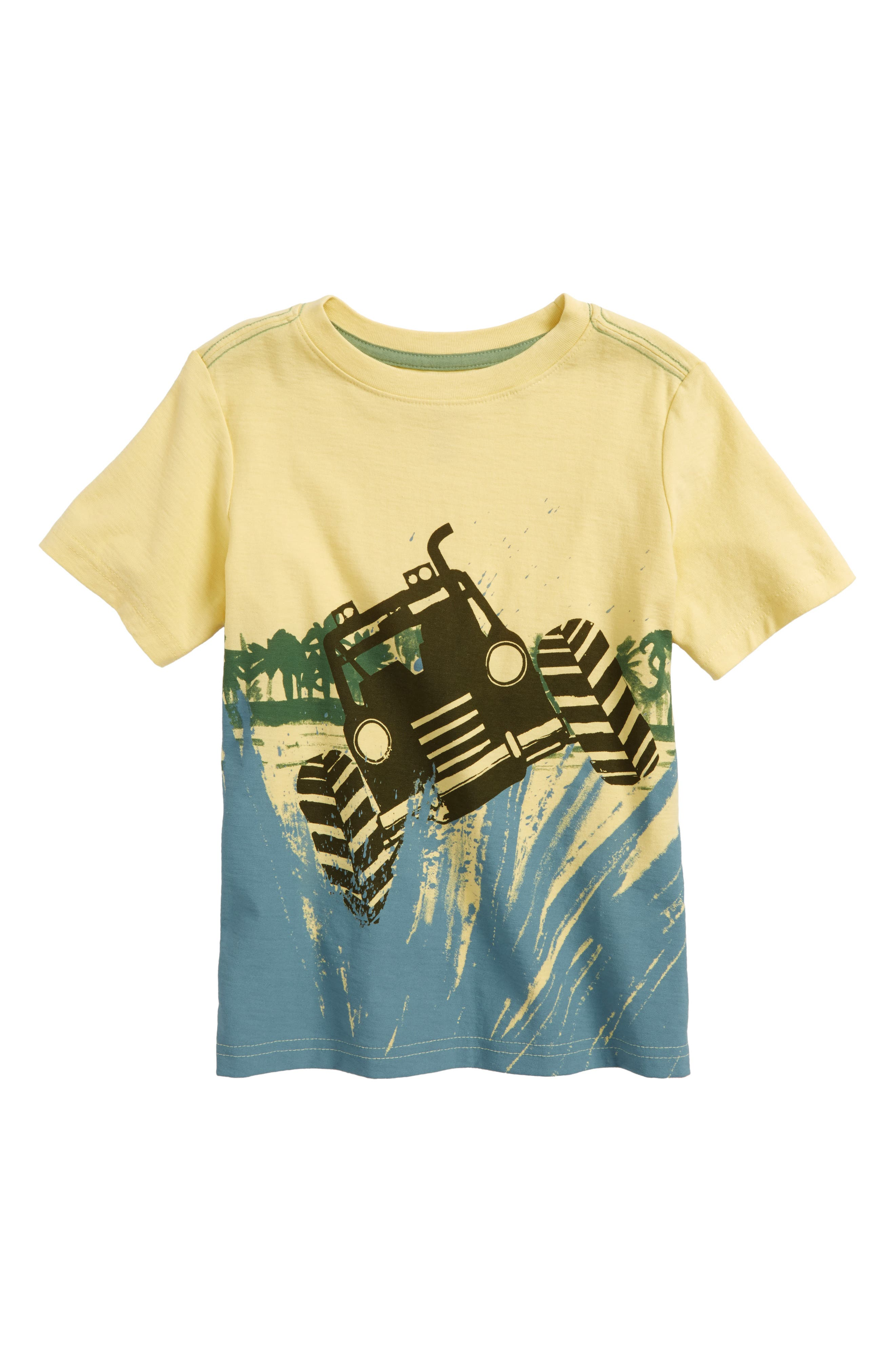 Off Road Graphic T-Shirt,                             Main thumbnail 1, color,                             Yuzu