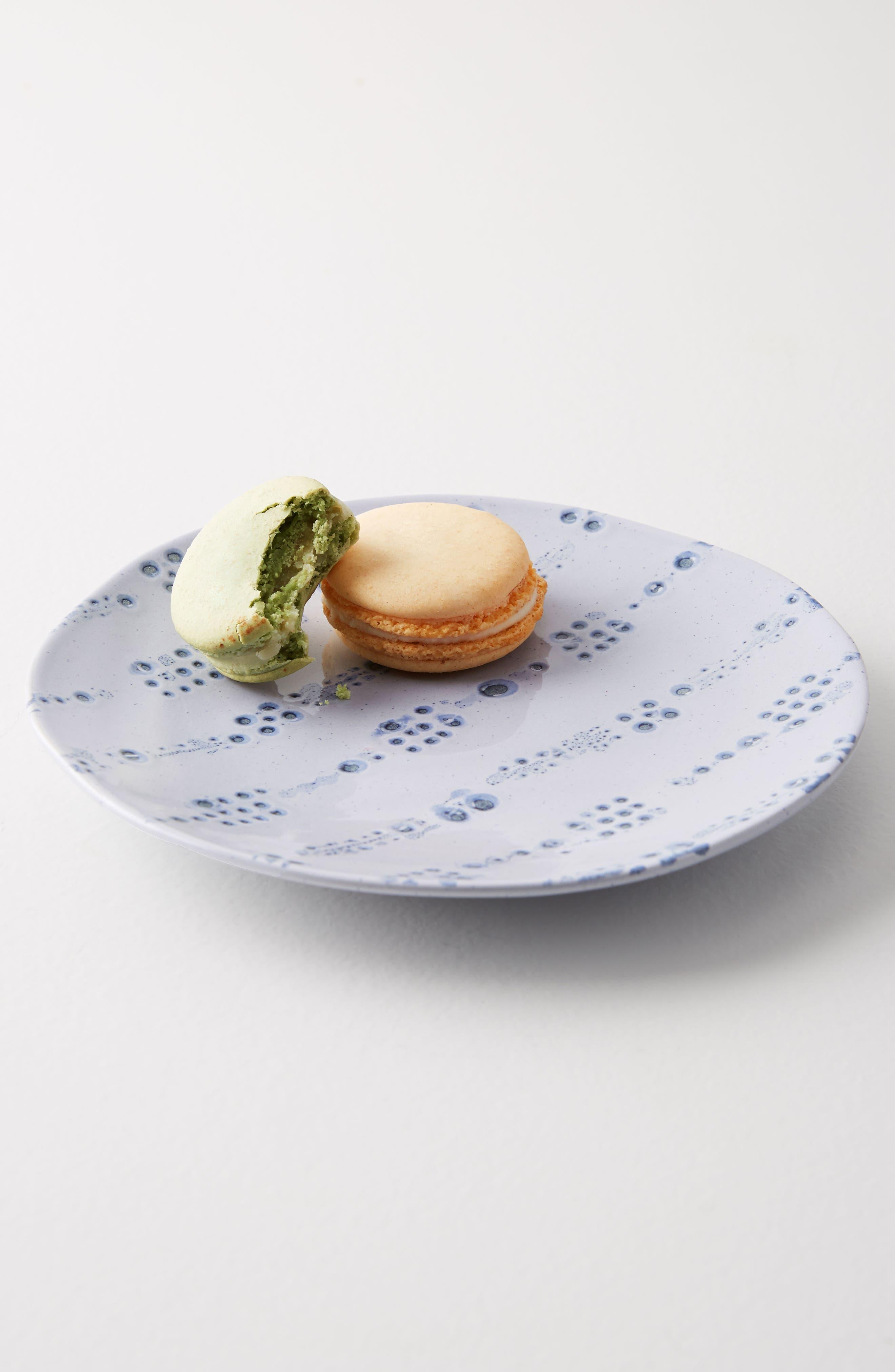 Tacola Canapé Plate,                         Main,                         color, Sky