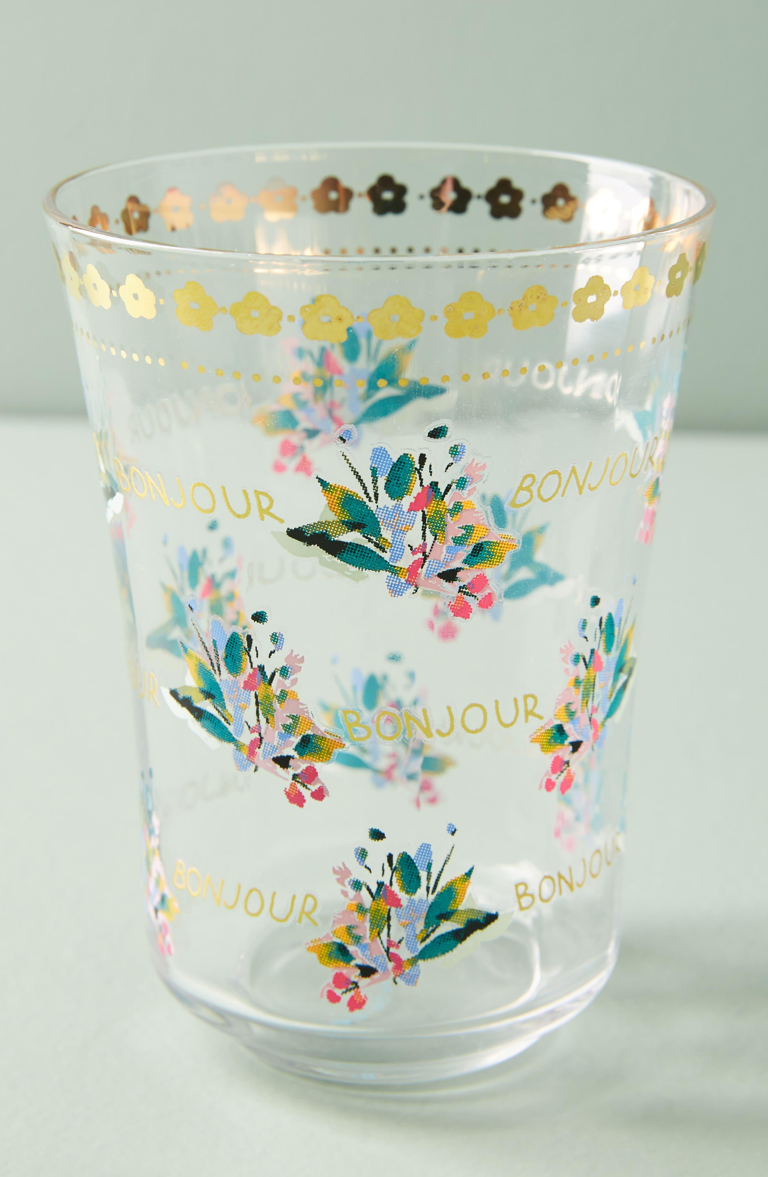 Alternate Image 1 Selected - Anthropologie Gilded Journey Juice Glass