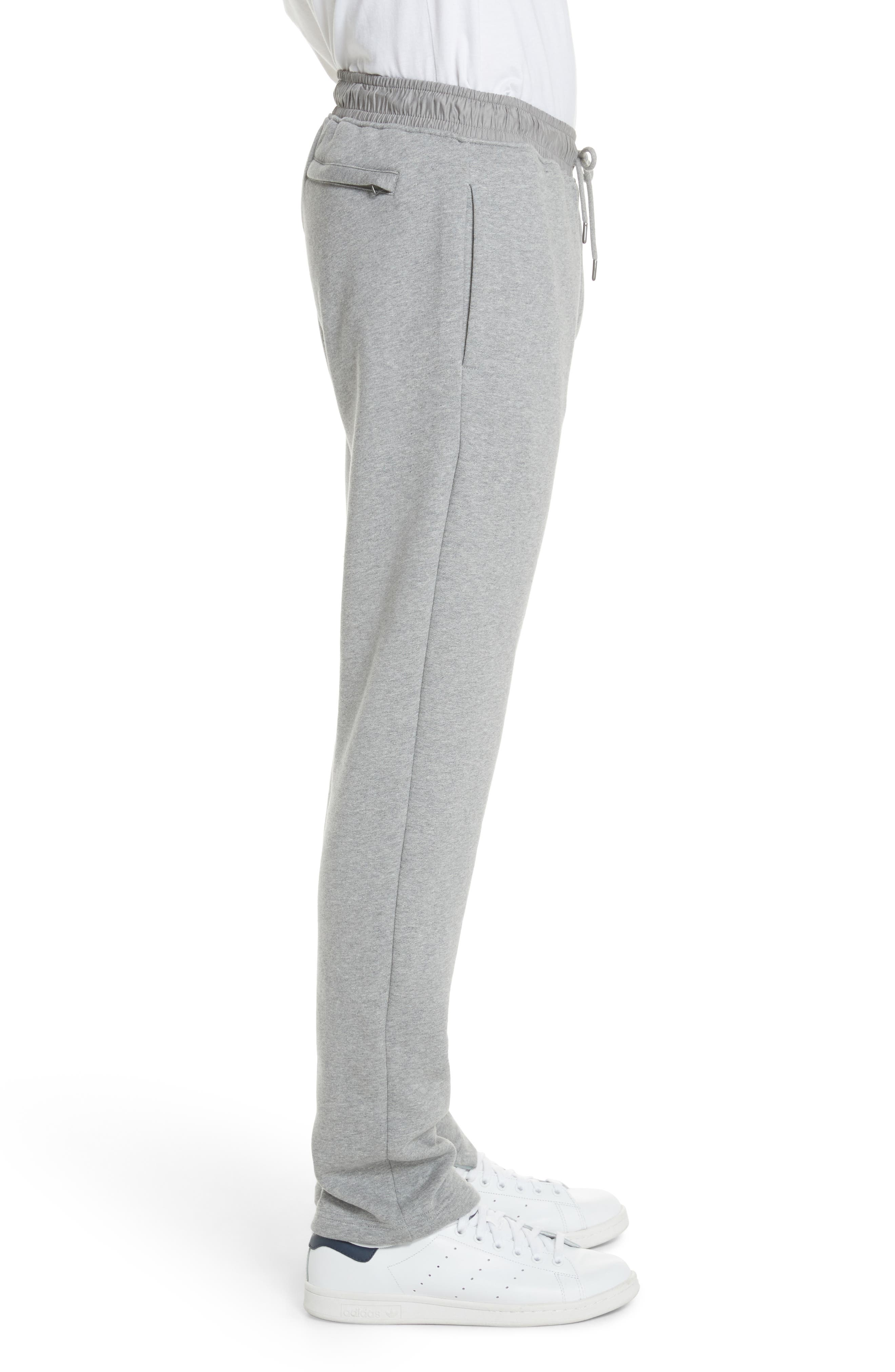 Nickford Lounge Pants,                             Alternate thumbnail 3, color,                             Pale Grey Melange
