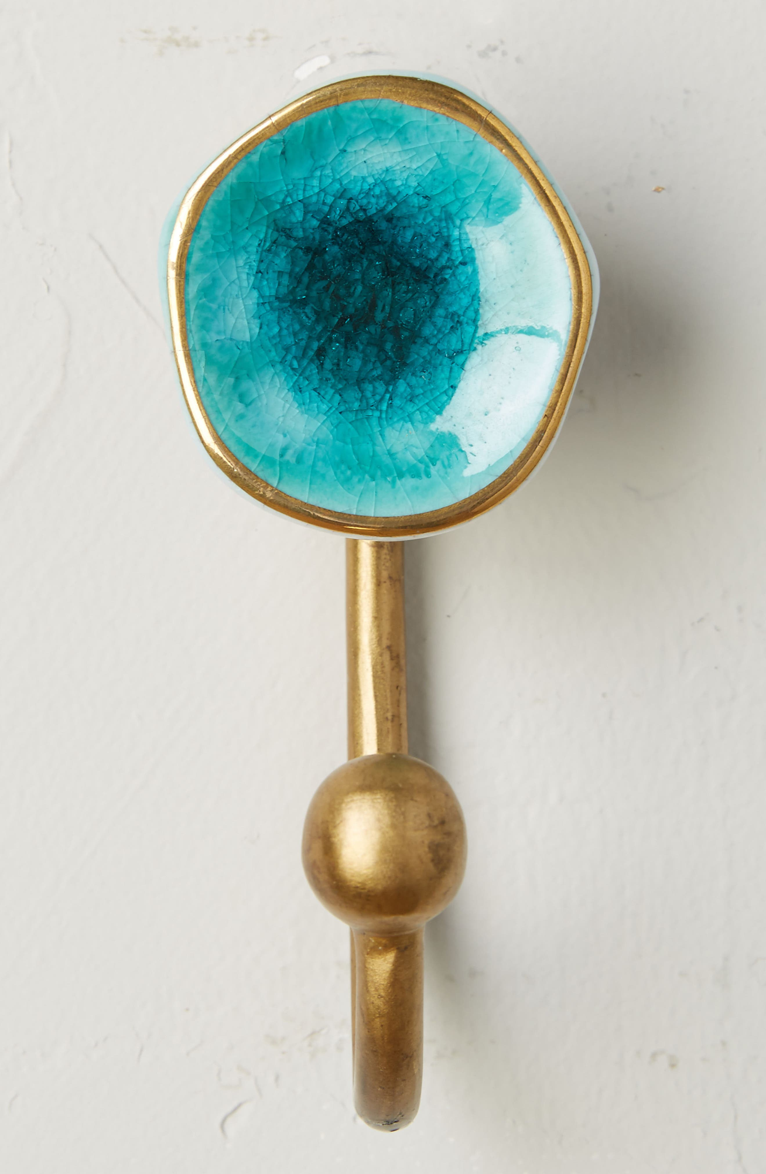 Ocean Crater Hook,                             Main thumbnail 1, color,                             Turquoise