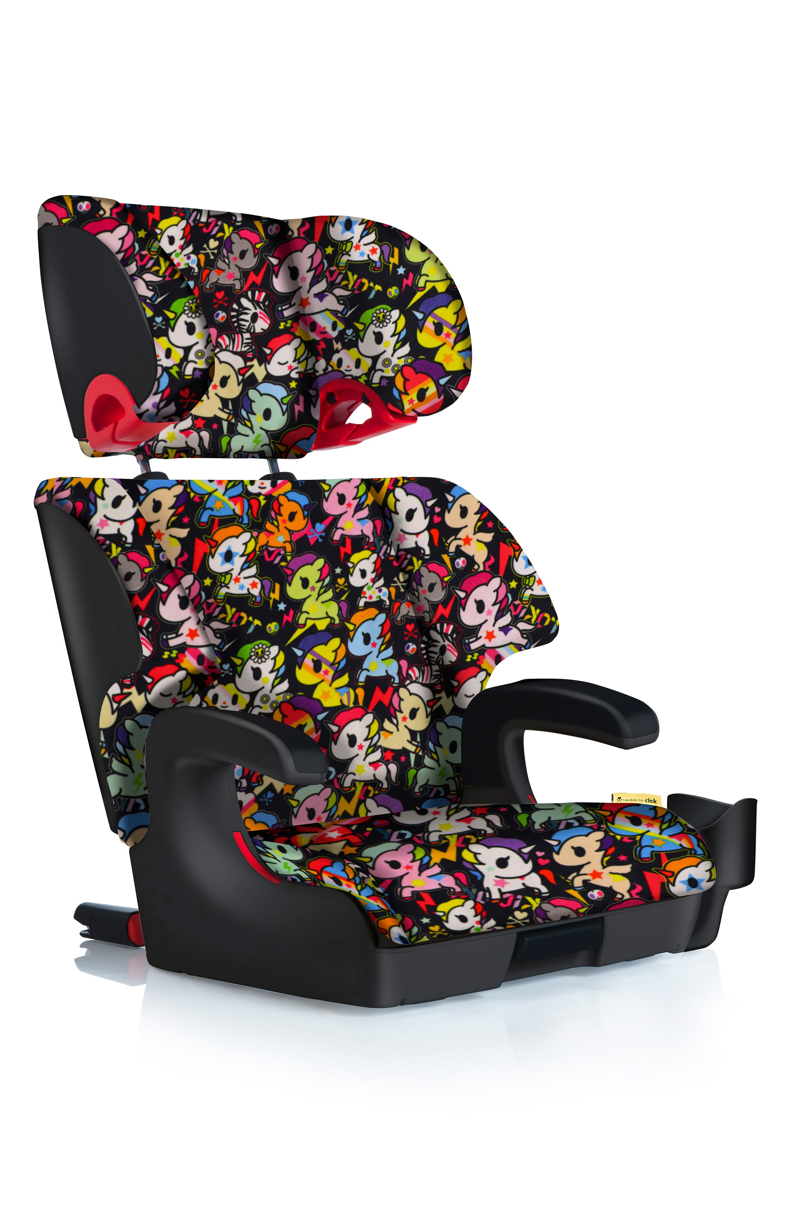 Clek x Tokidoki Oobr Convertible Full Back/Backless Booster Seat