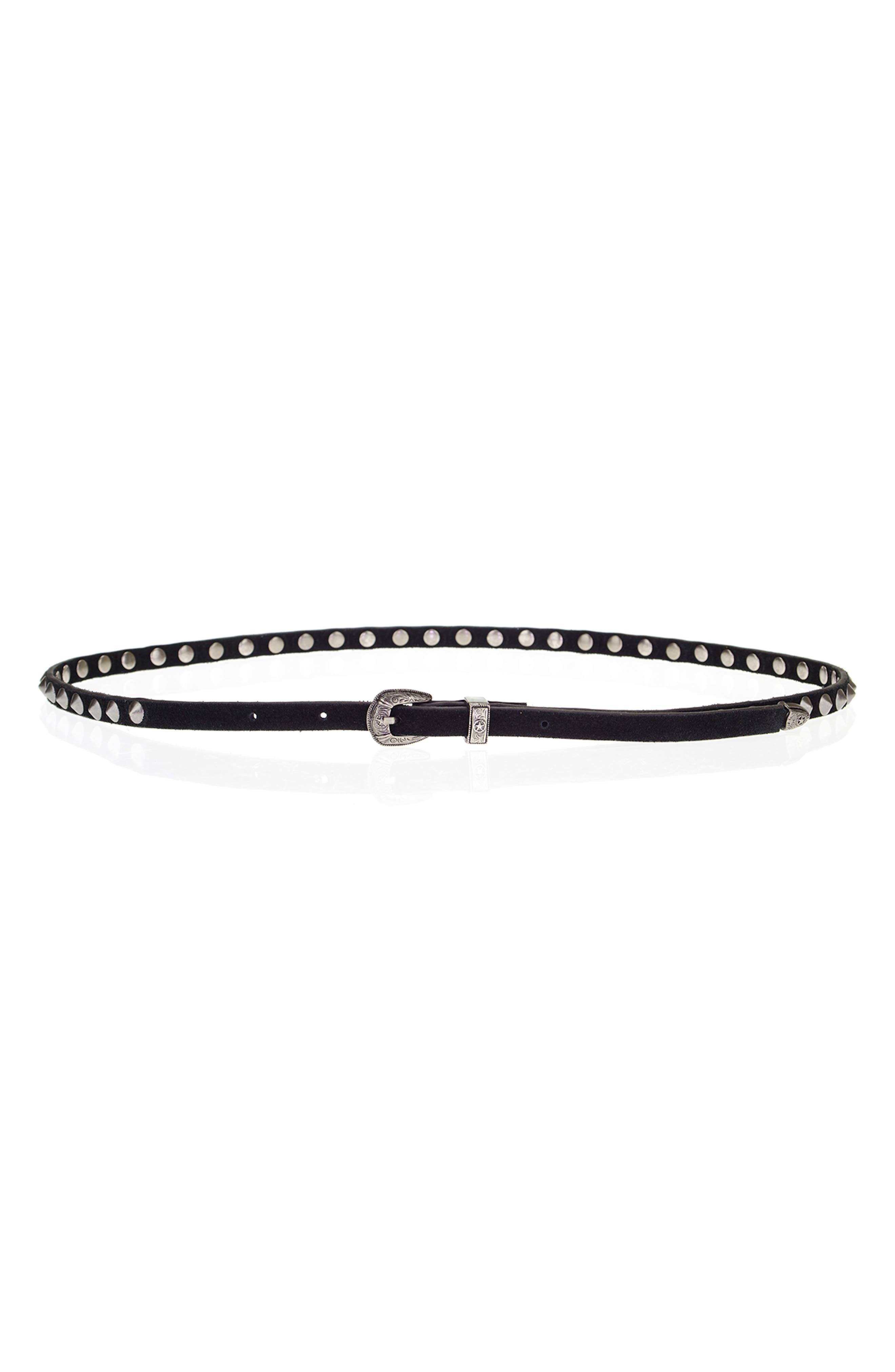 Pico Studs Belt,                         Main,                         color, Black