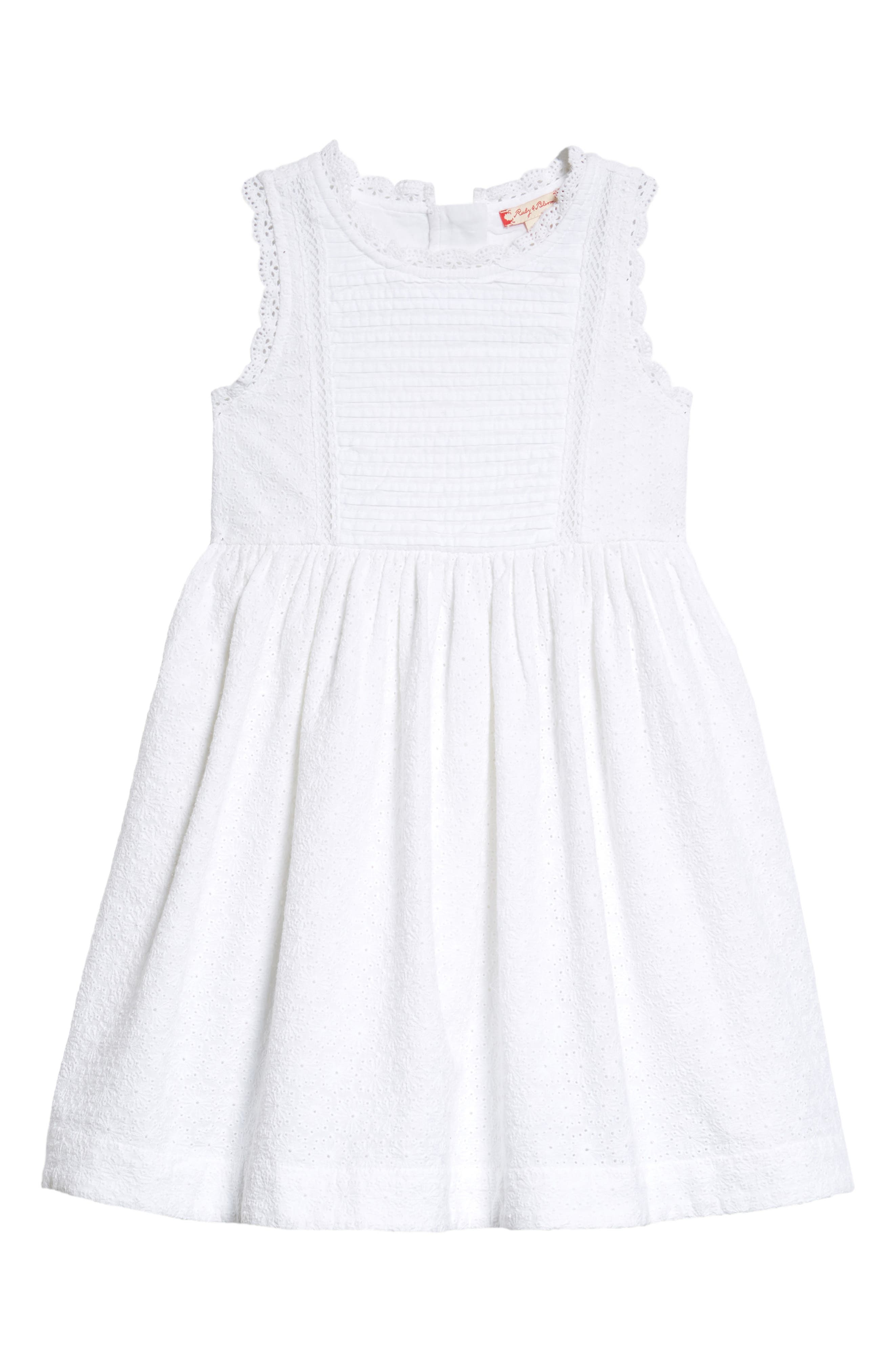 Ruby & Bloom Lace Shift Dress (Toddler Girls, Little Girls & Big Girls)