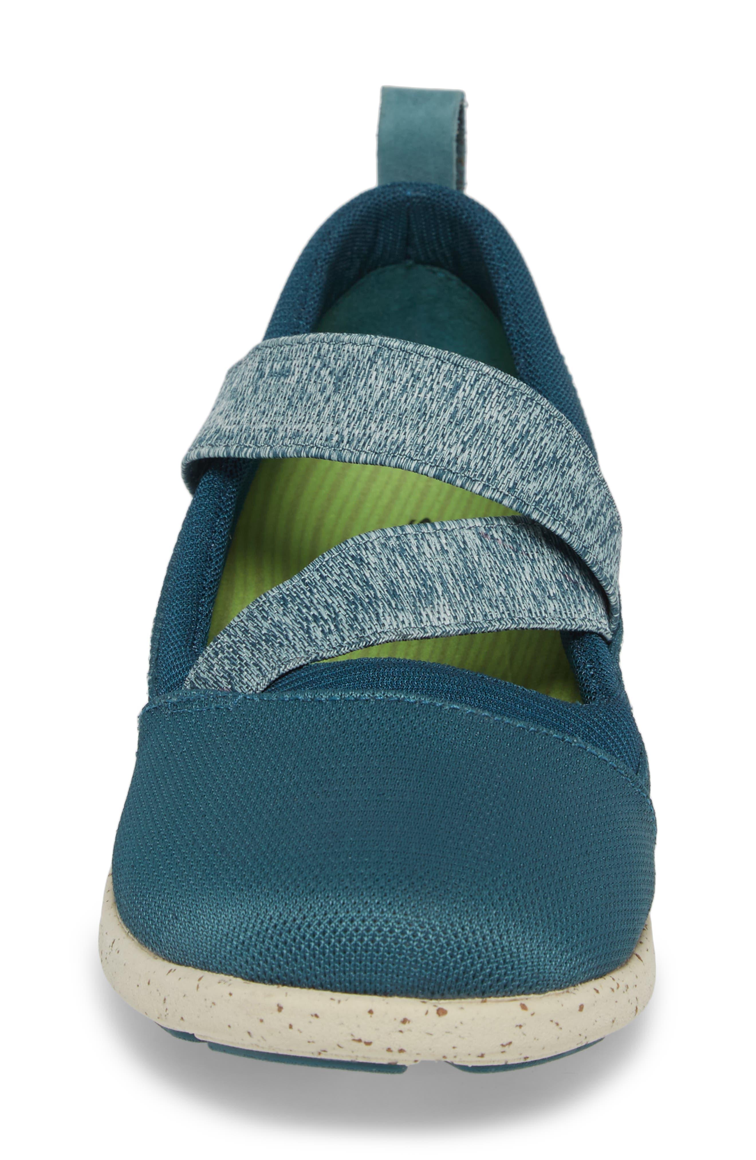 Palisade Sneaker,                             Alternate thumbnail 4, color,                             Balsam Blue Leather