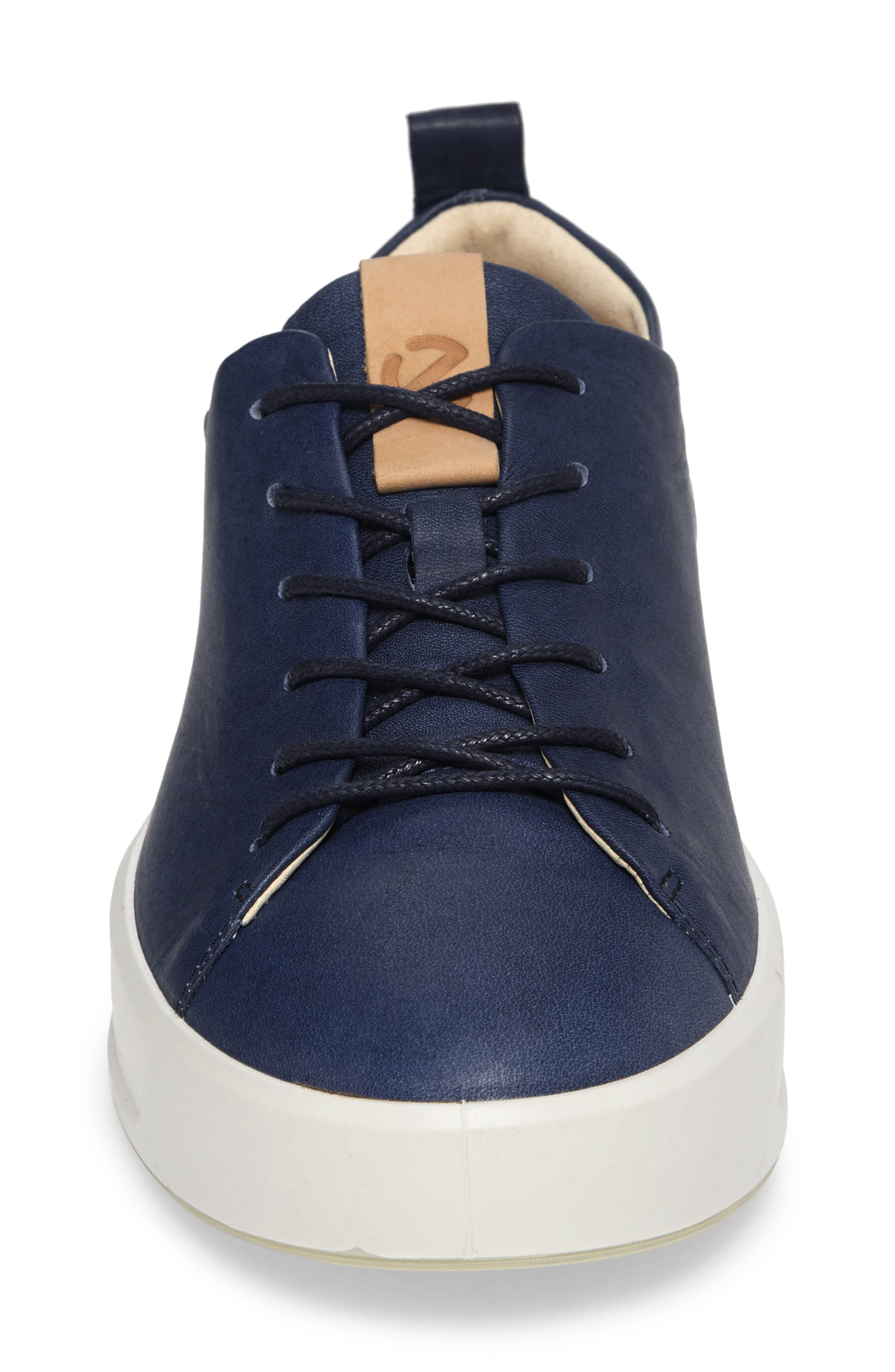 Soft 8 Sneaker,                             Alternate thumbnail 6, color,                             Indigo 7 Leather