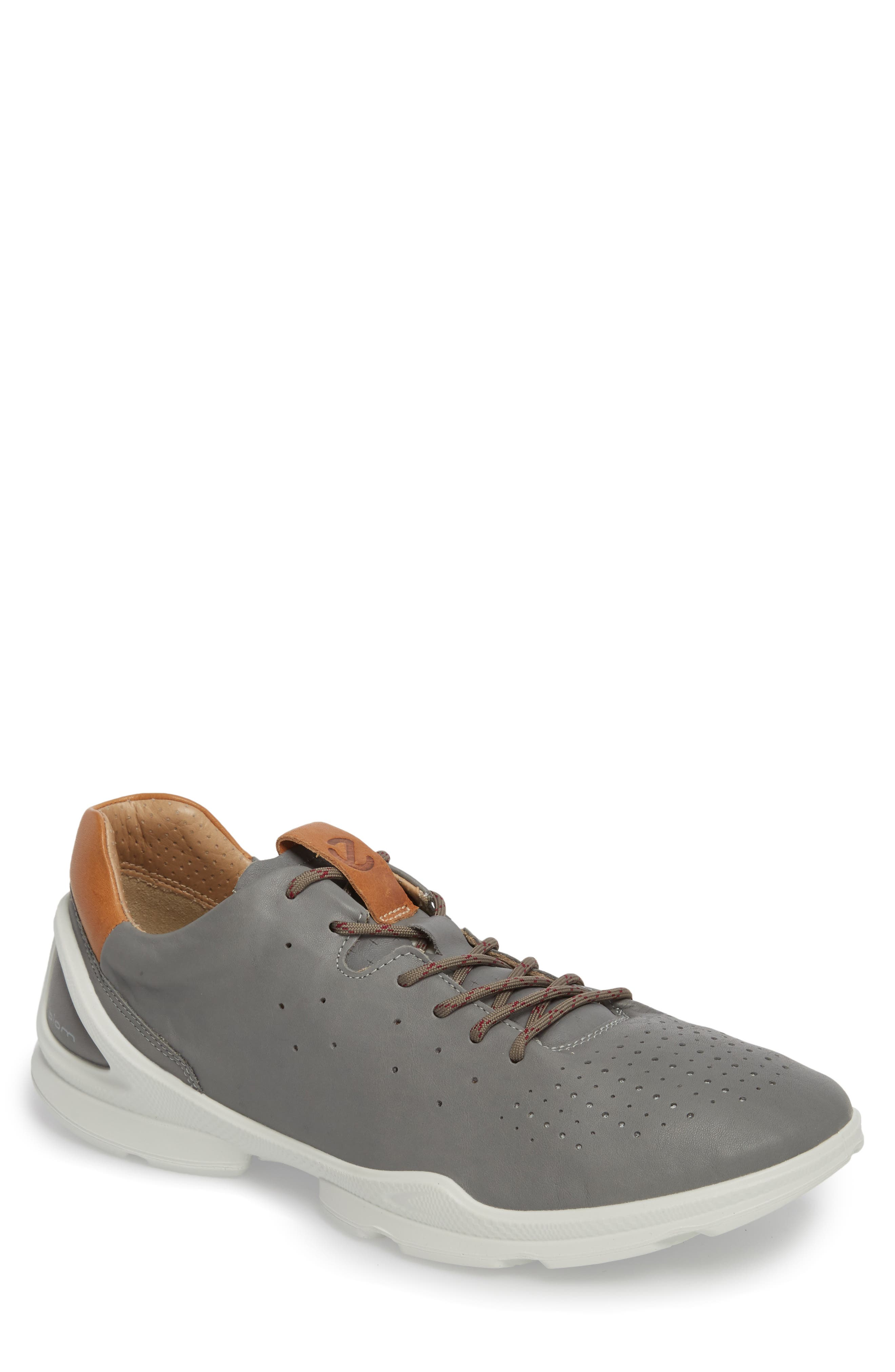 Biom Street Sneaker,                         Main,                         color, Wild Dove Leather