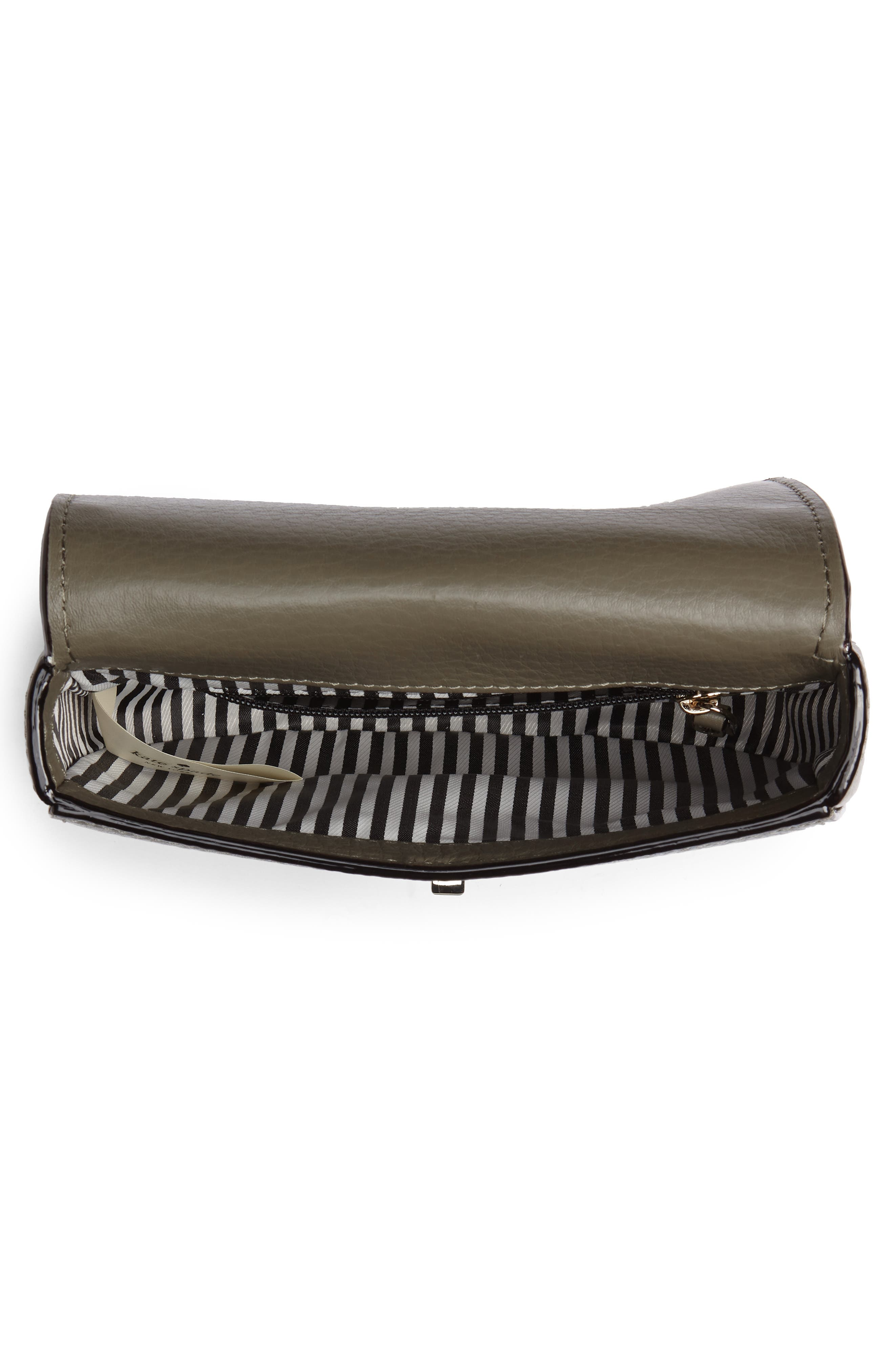 greenwood place rita leather belt bag,                             Alternate thumbnail 4, color,                             Olive