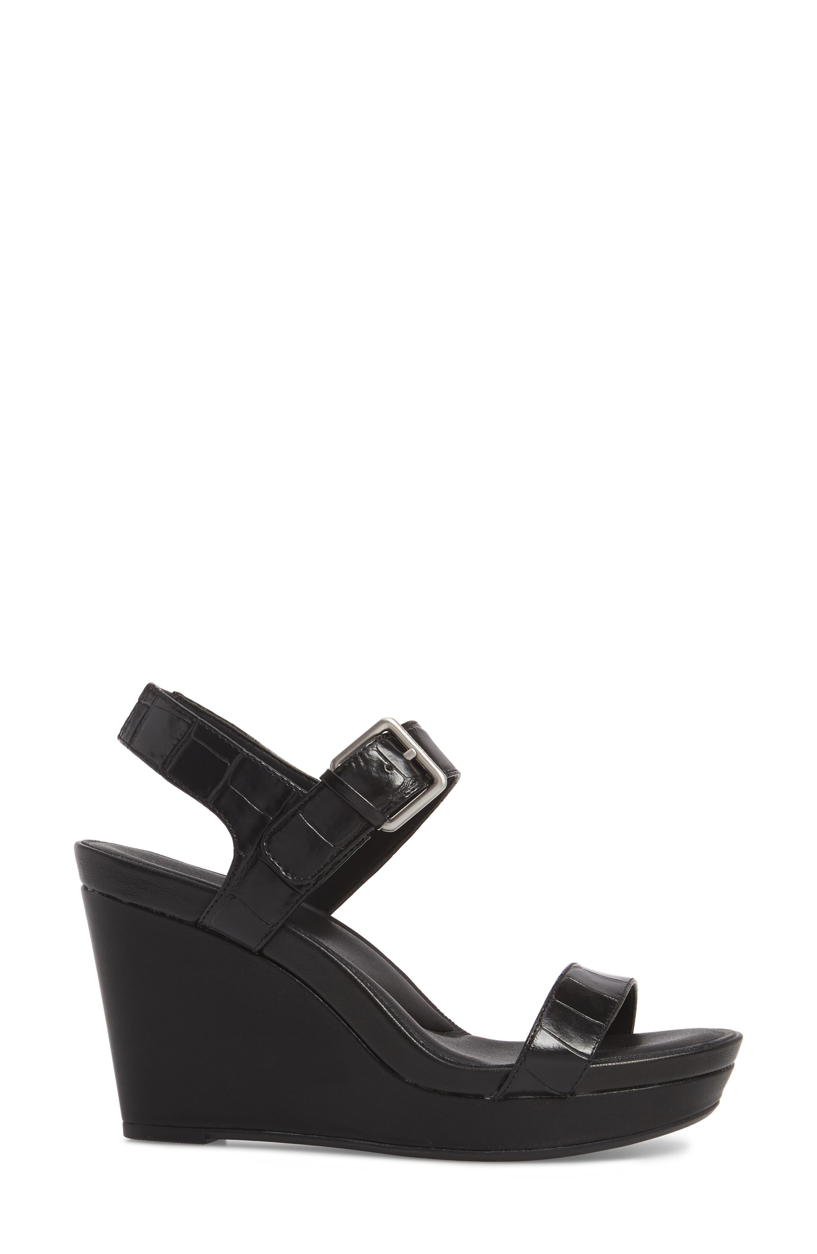 Alternate Image 3  - Calvin Klein Jacie Wedge Sandal (Women)