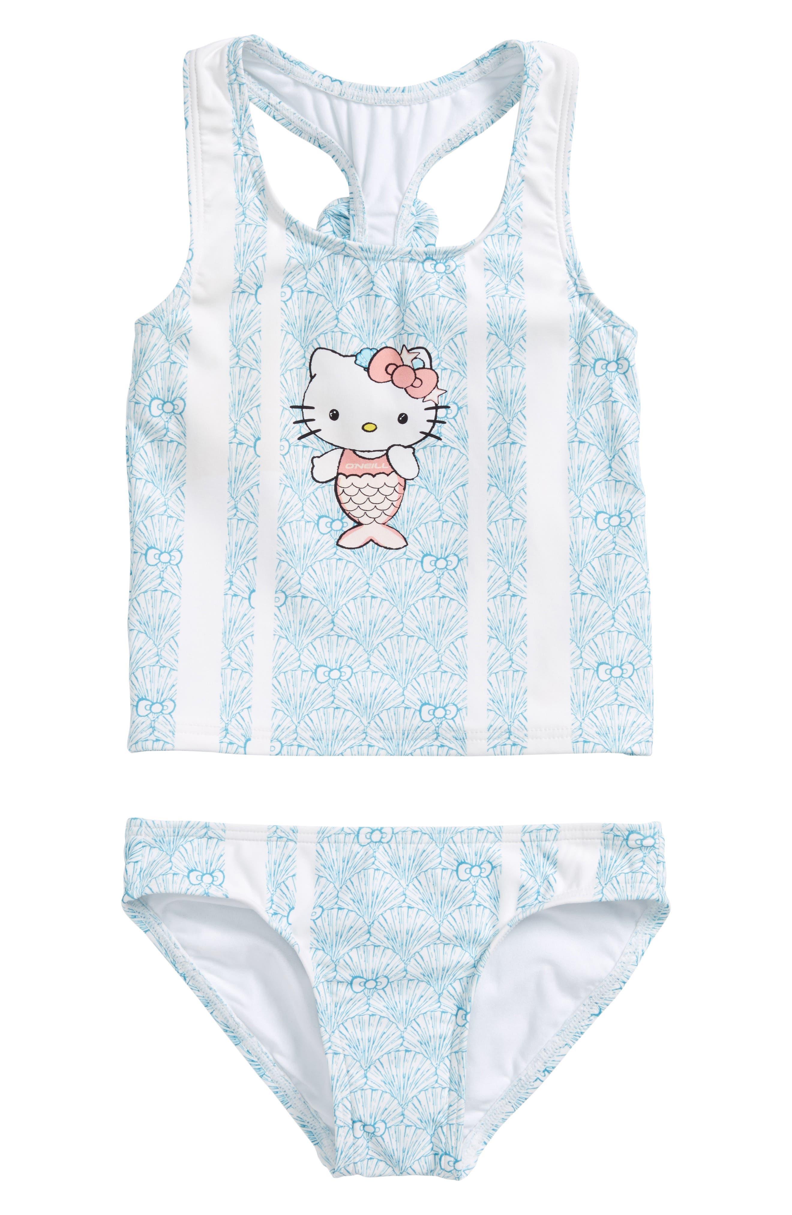 O'Neill x Hello Kitty® - Shelly Two-Piece Swimsuit (Toddler Girls & Little Girls)