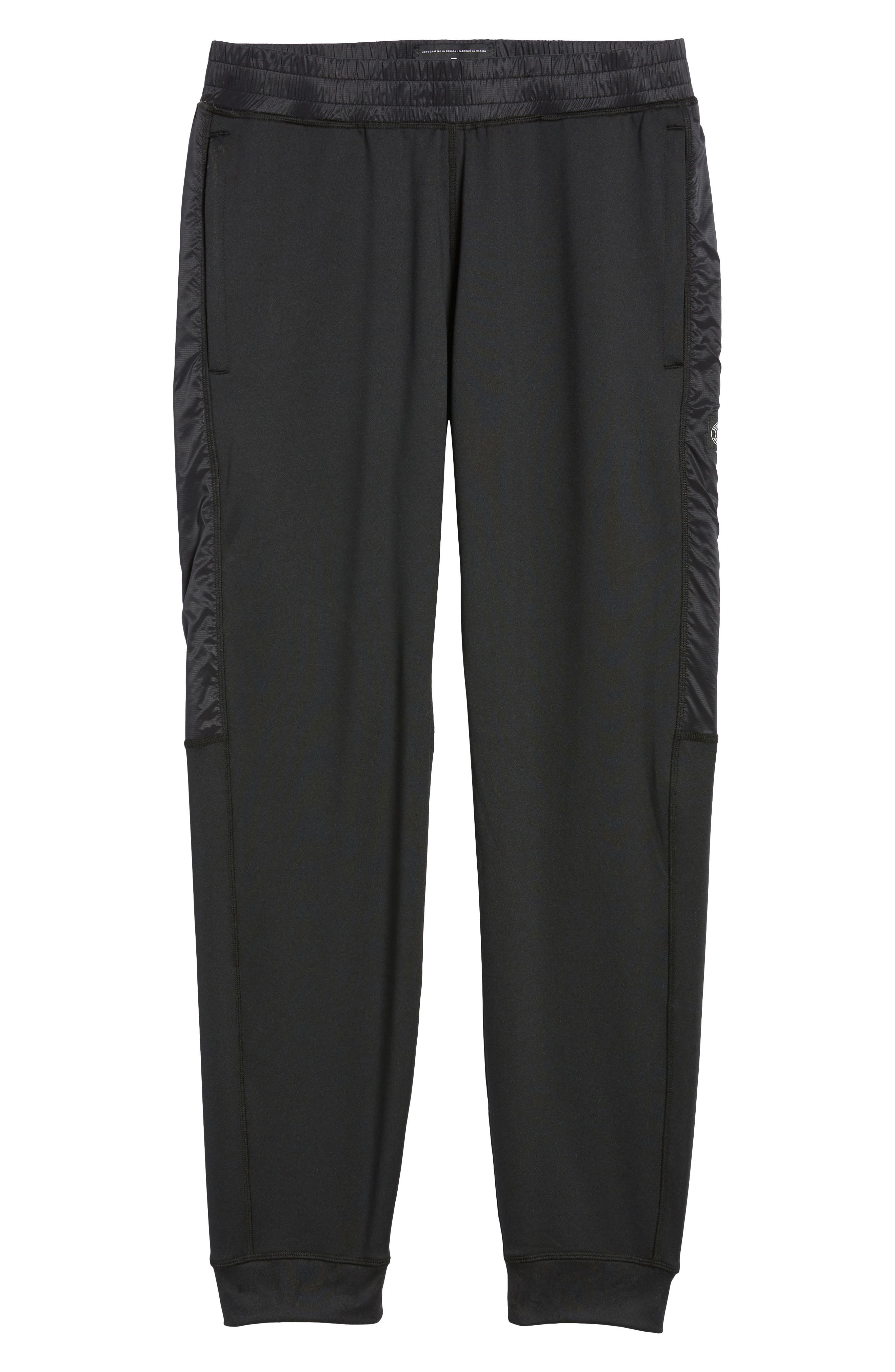 Hybrid CoolMax<sup>®</sup> Pants,                             Alternate thumbnail 6, color,                             Black