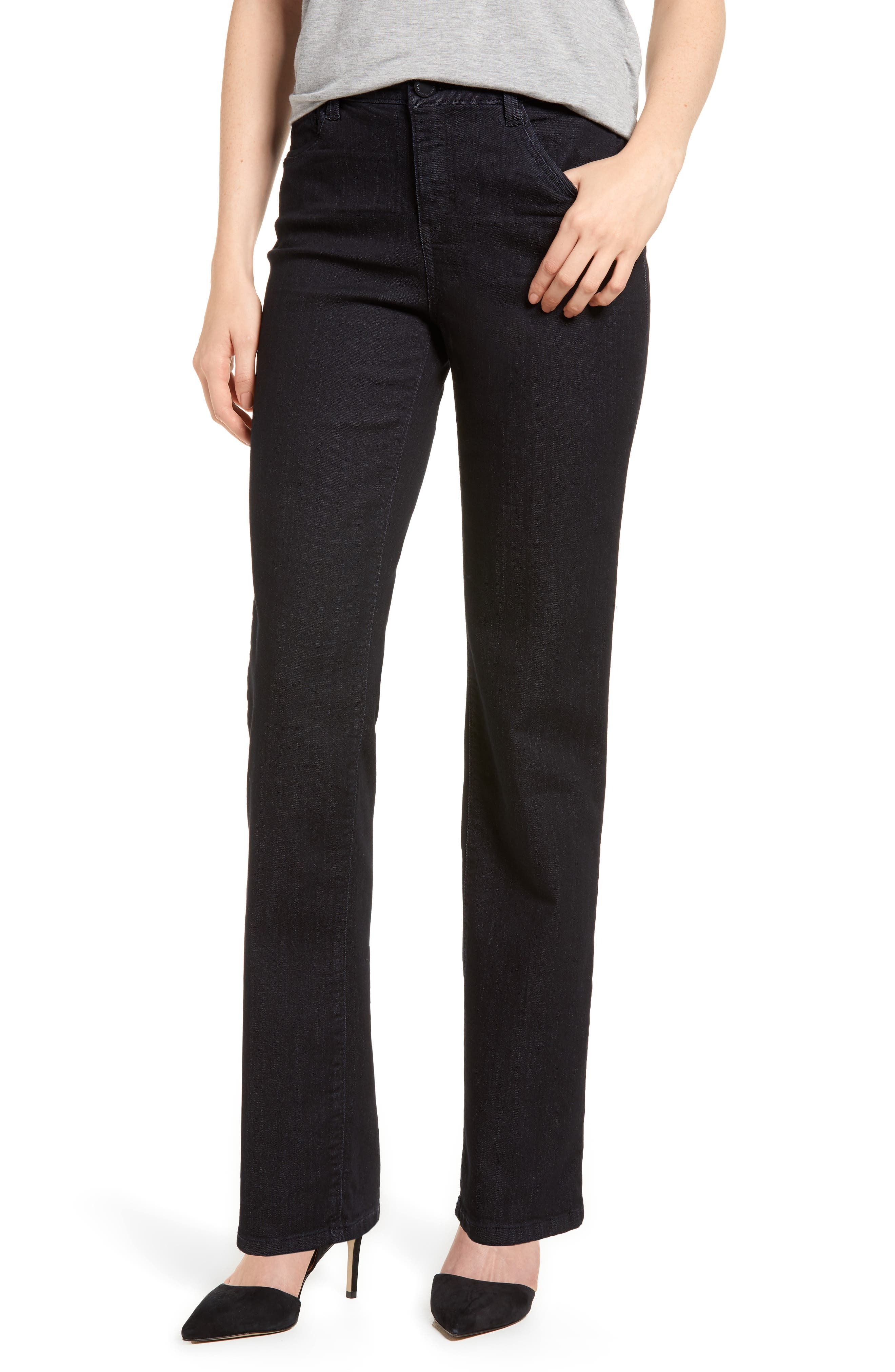 Classic High Waist Jeans,                         Main,                         color, In-Indigo