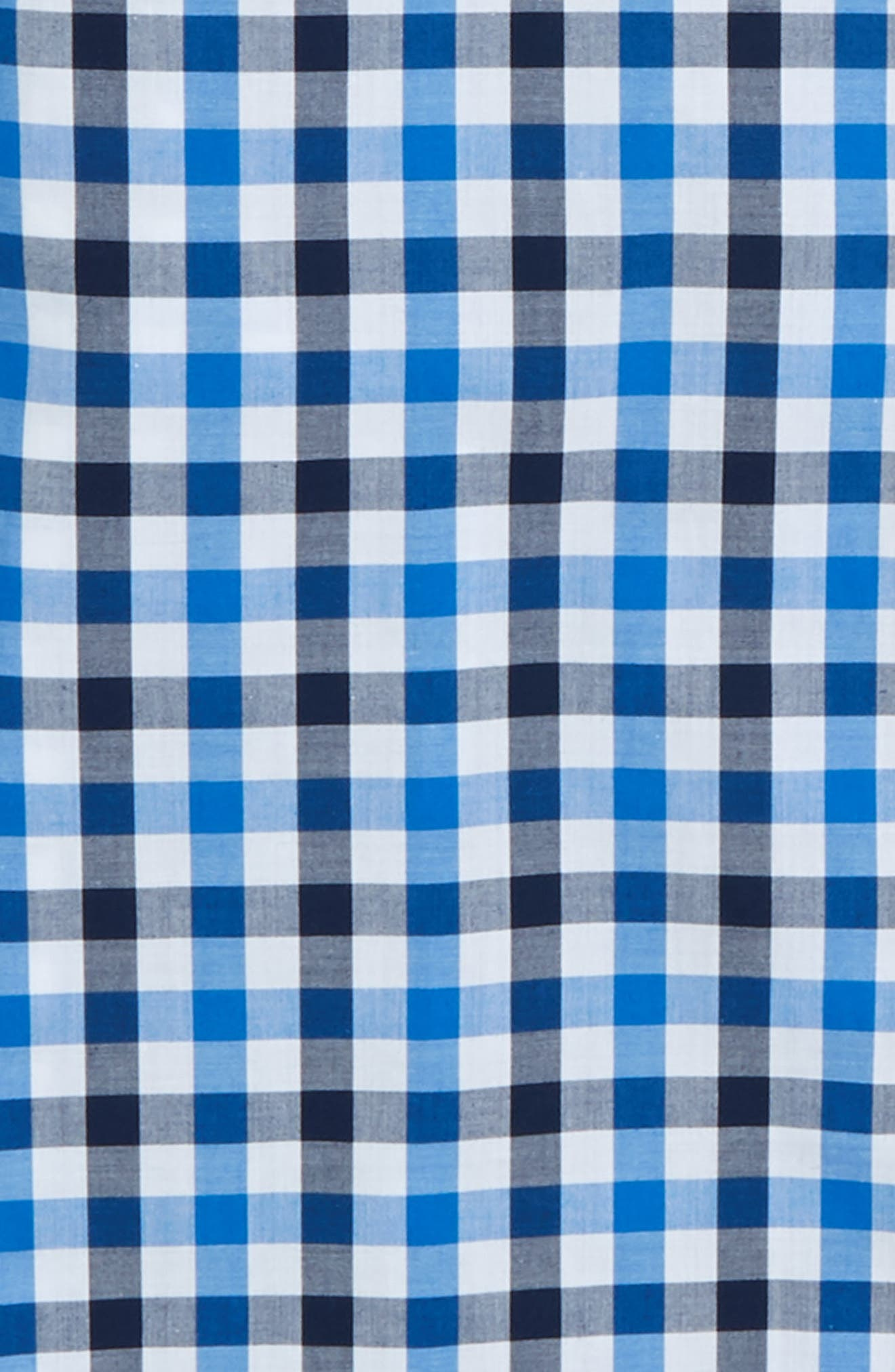 Check Dress Shirt,                             Alternate thumbnail 2, color,                             Blue Check